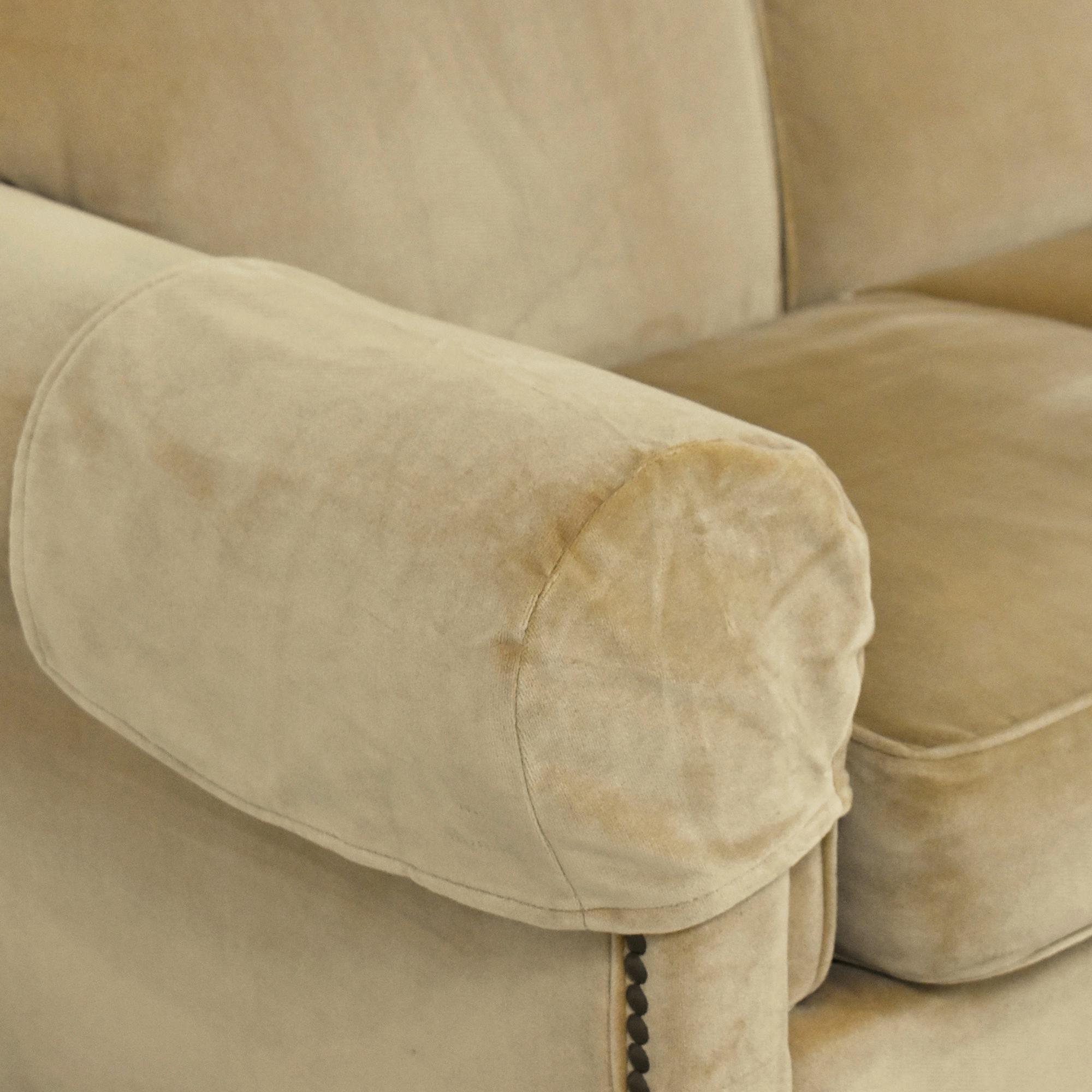 Hickory Chair Hickory Chair Sunbrella Three Cushion Sofa discount