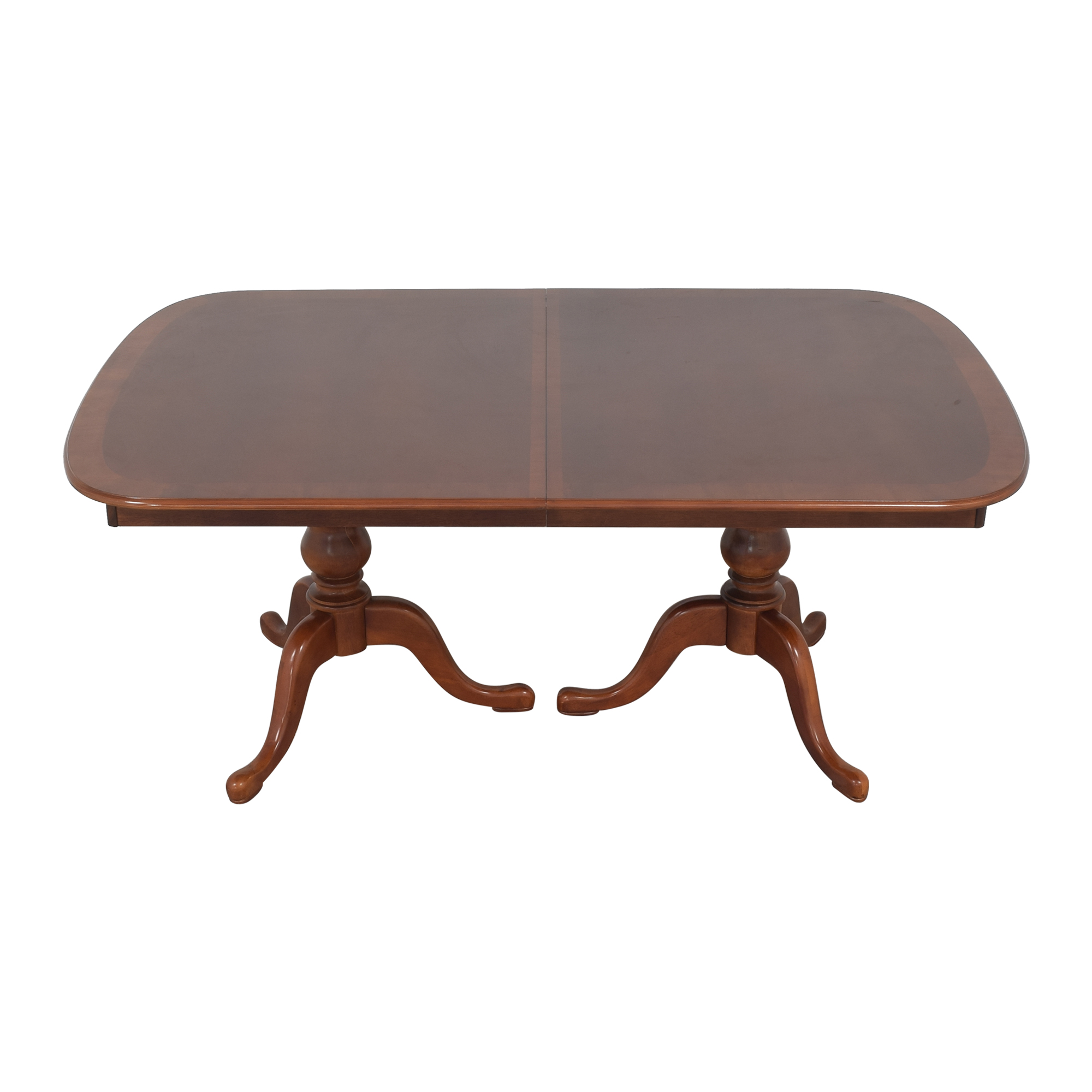 Double Pedestal Dining Table discount