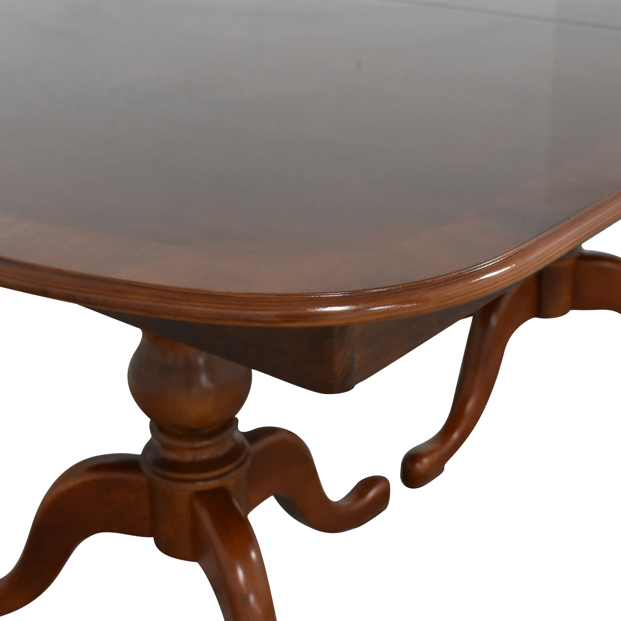 Double Pedestal Dining Table on sale