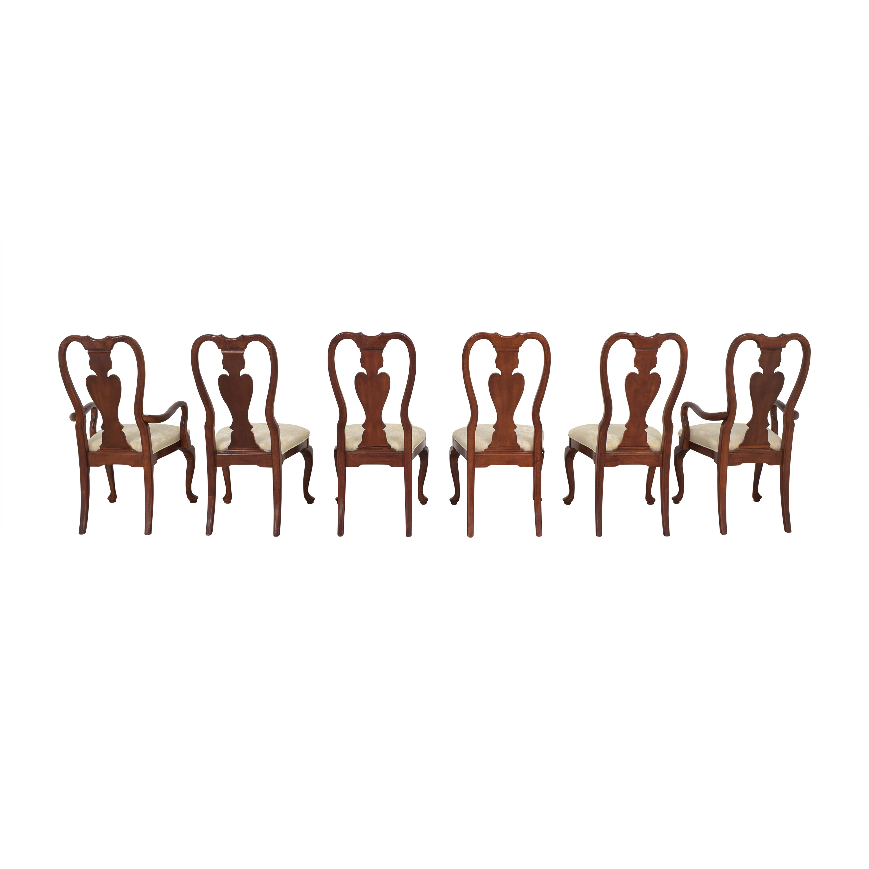Universal Furniture Universal Furniture Queen Anne Dining Chairs used