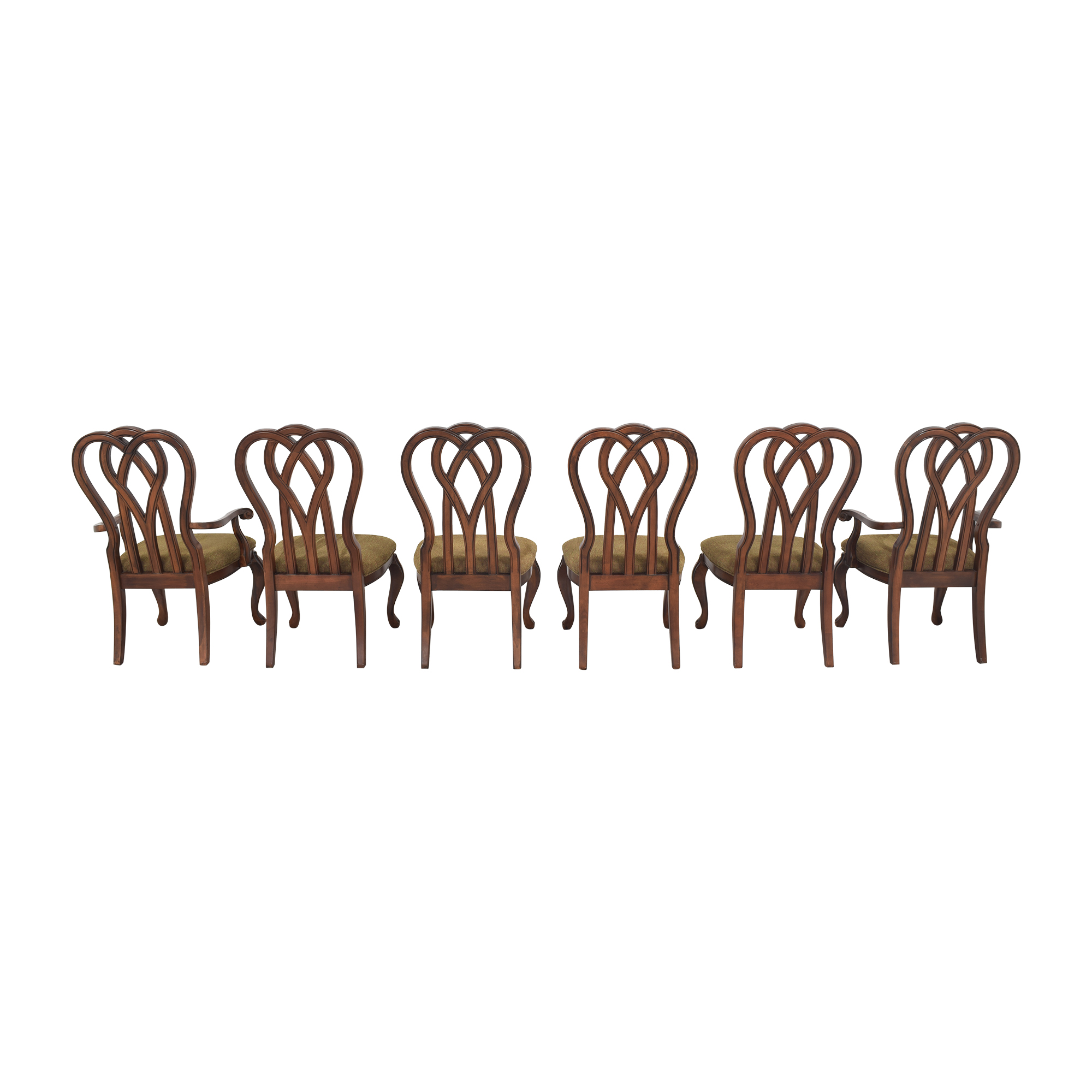 Legacy Classic Furniture Legacy Classic Furniture Ribbon Back Dining Chairs brown
