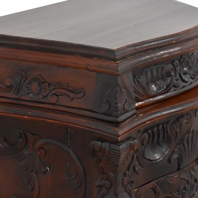buy Vintage Carved Nightstand  End Tables