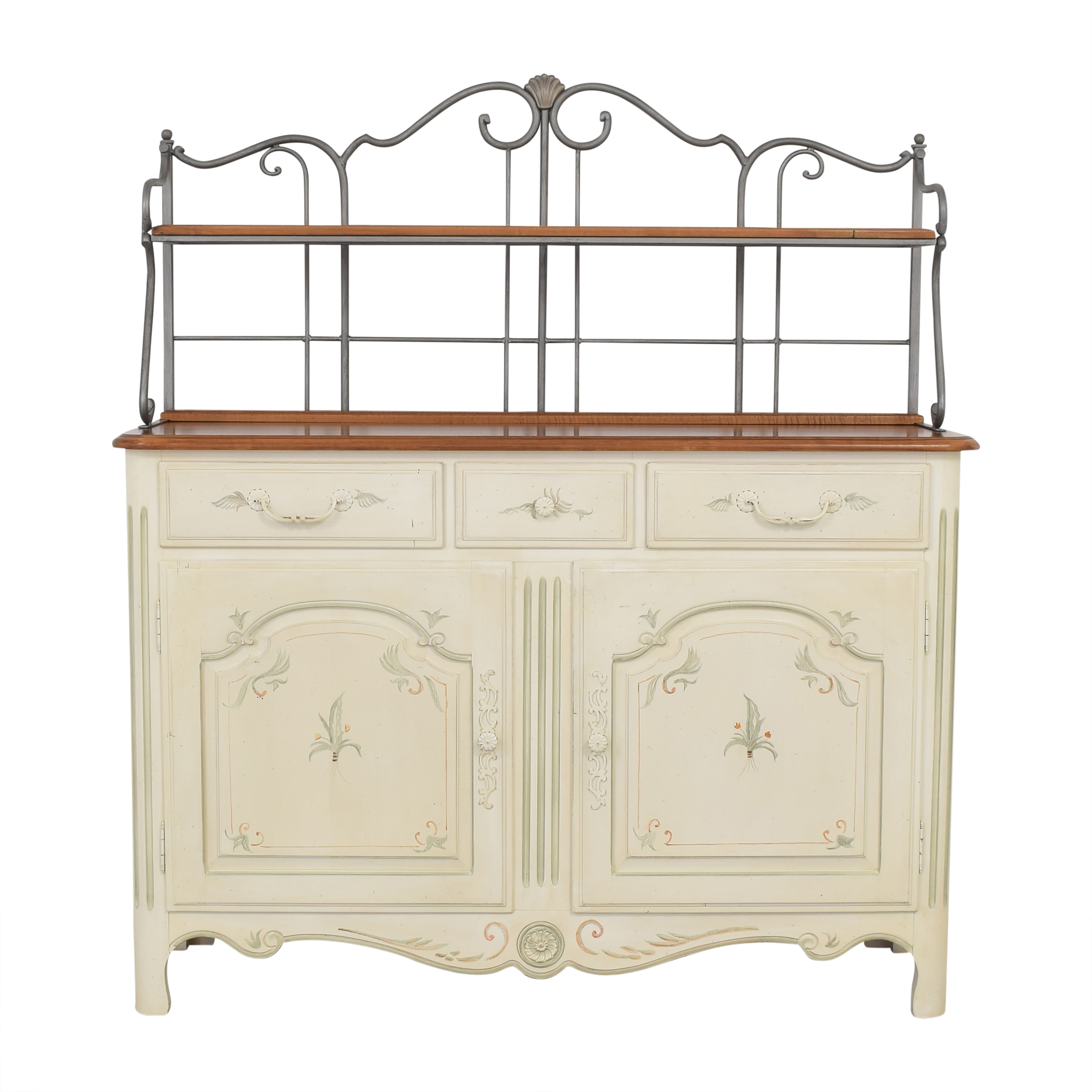 Ethan Allen Ethan Allen French Country Sideboard Baker's Rack on sale