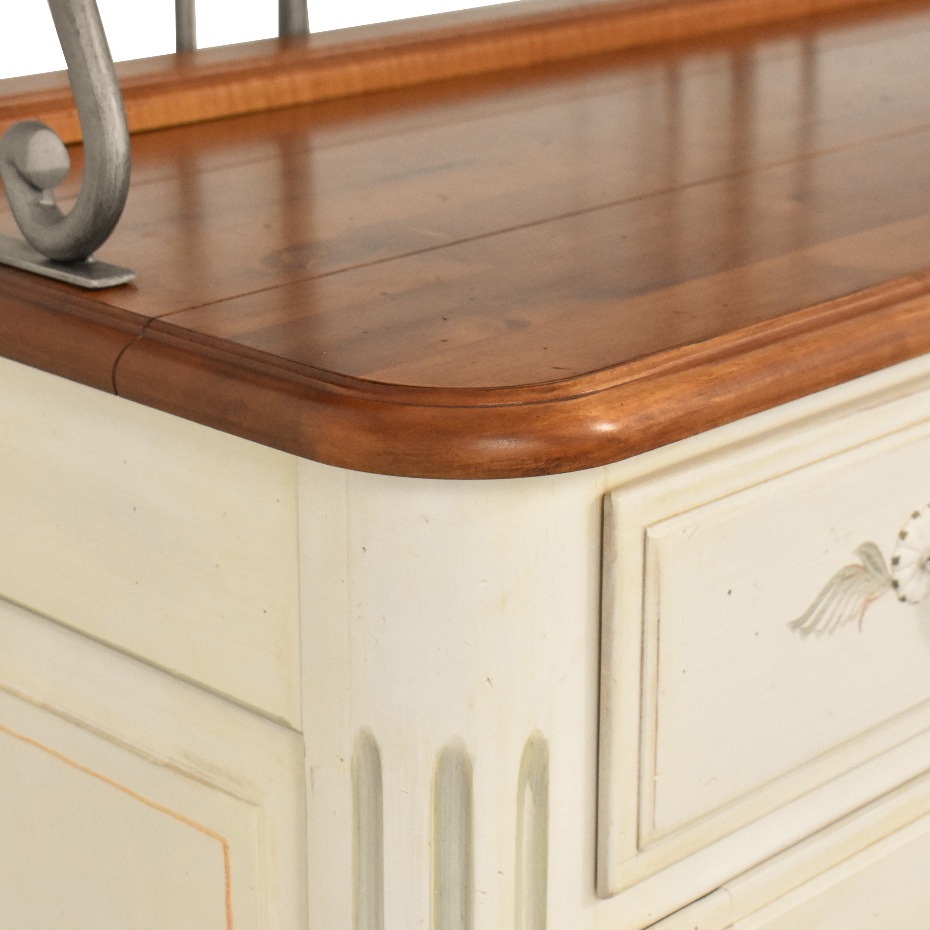 Ethan Allen Ethan Allen French Country Sideboard Baker's Rack price