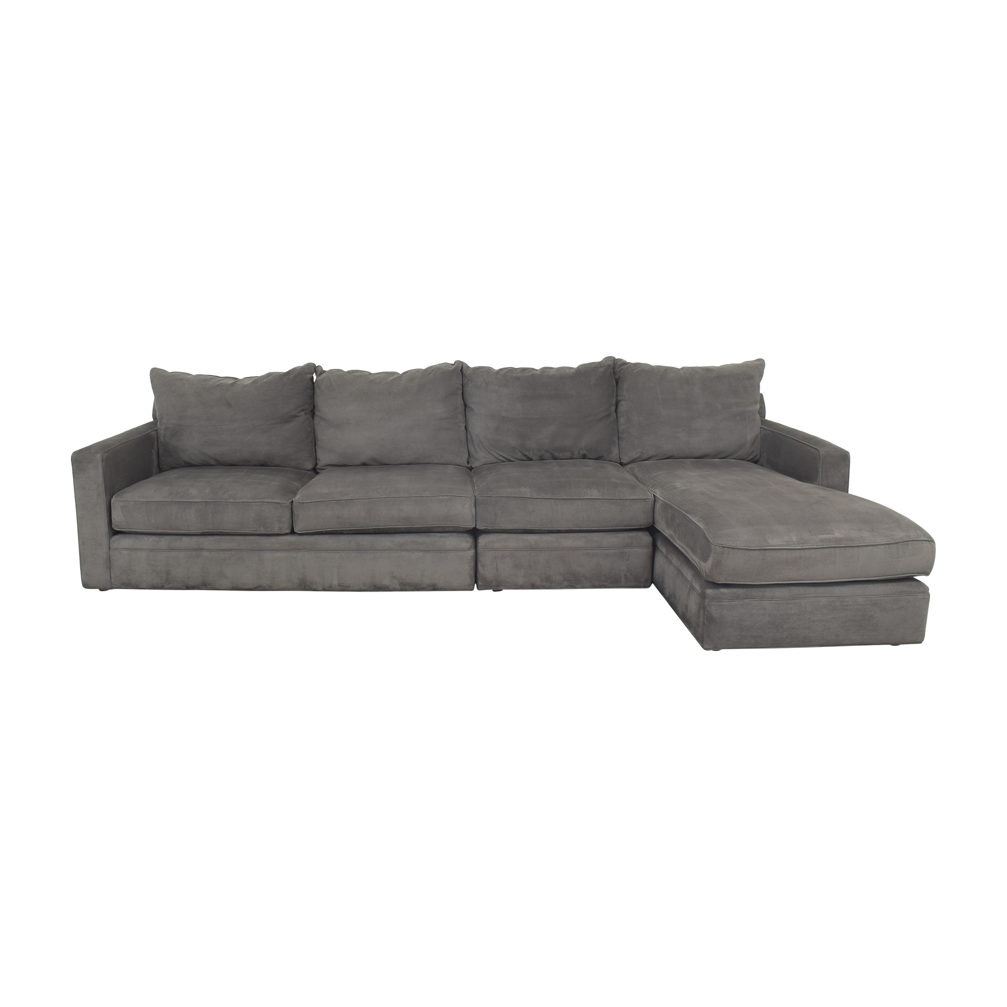 buy Room & Board Chaise Sectional Sofa Room & Board Sectionals