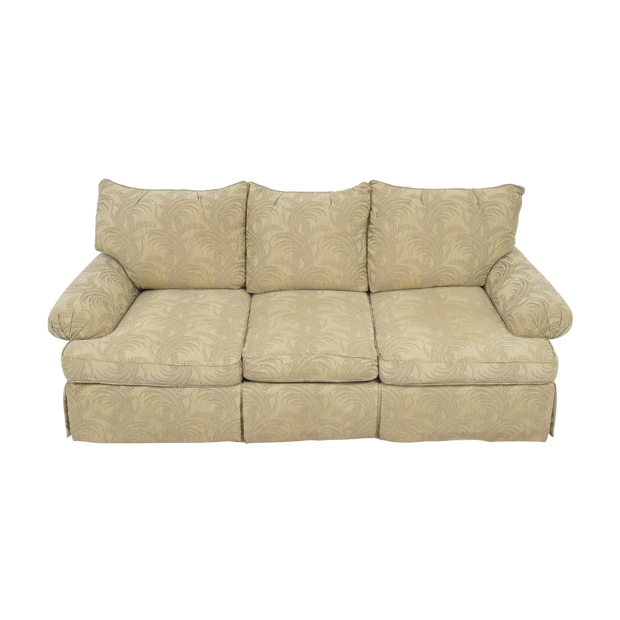 Bernhardt Roll Arm Three Cushion Sofa sale