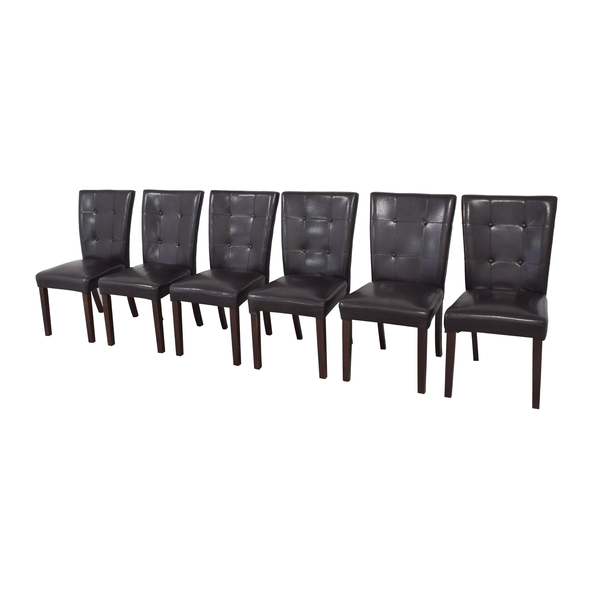 Tufted Parsons Dining Chairs