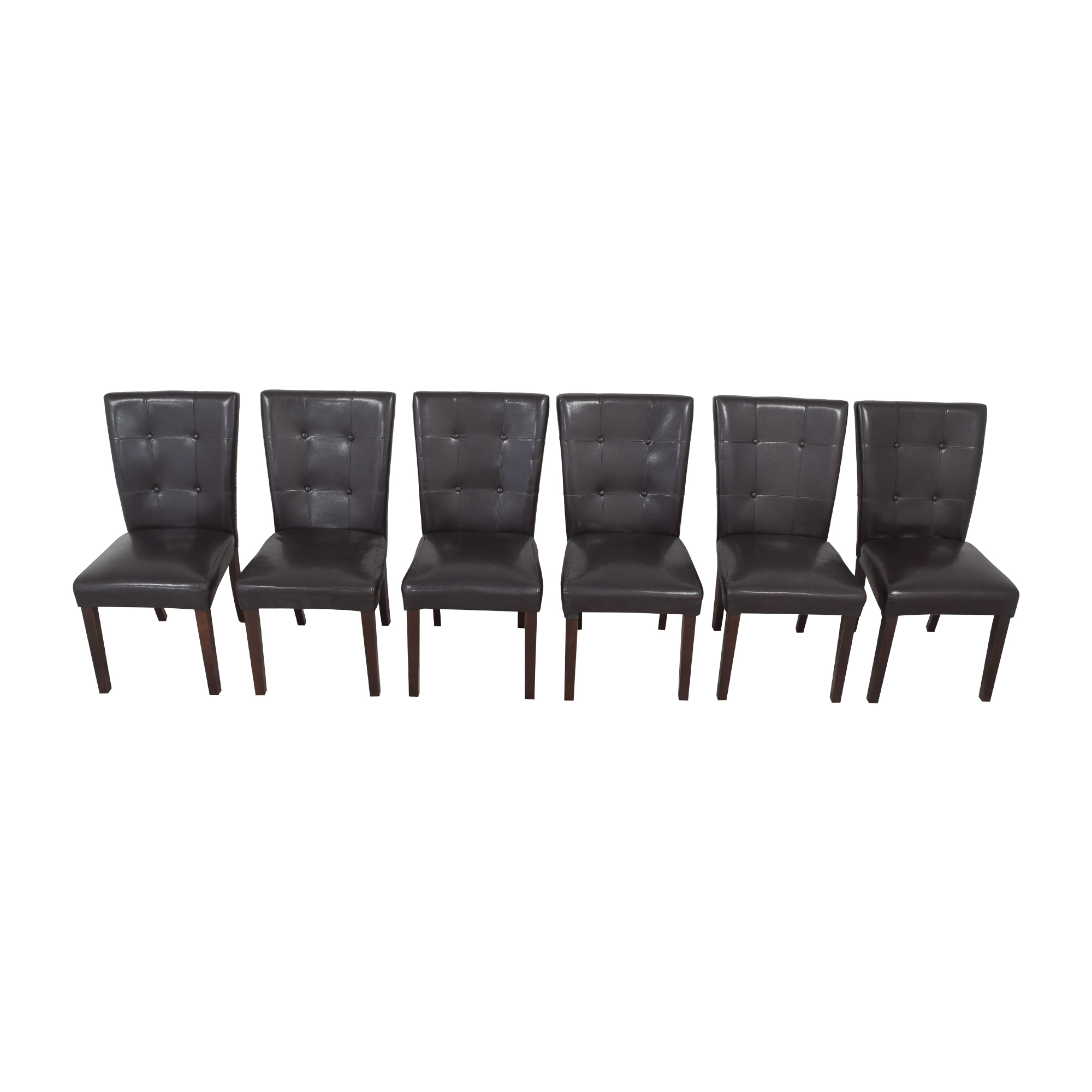 Tufted Parsons Dining Chairs / Chairs