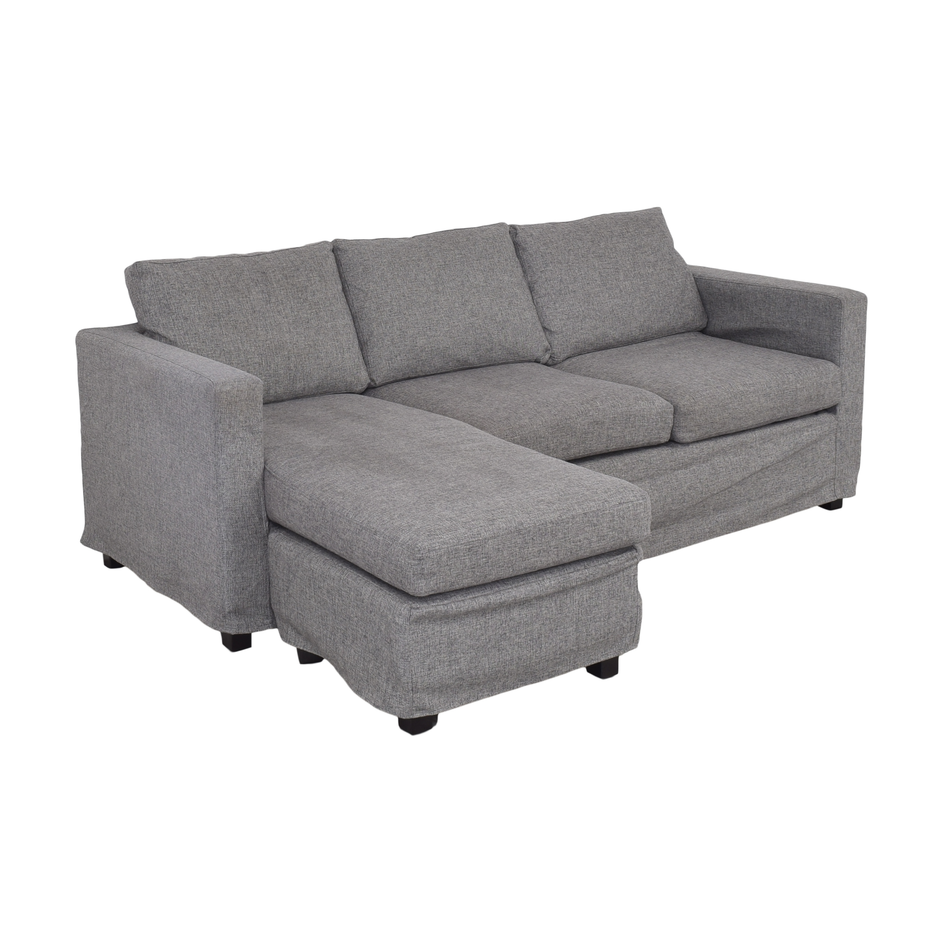 Andover Mills Chaise Reversible Sectional Sofa / Sofas