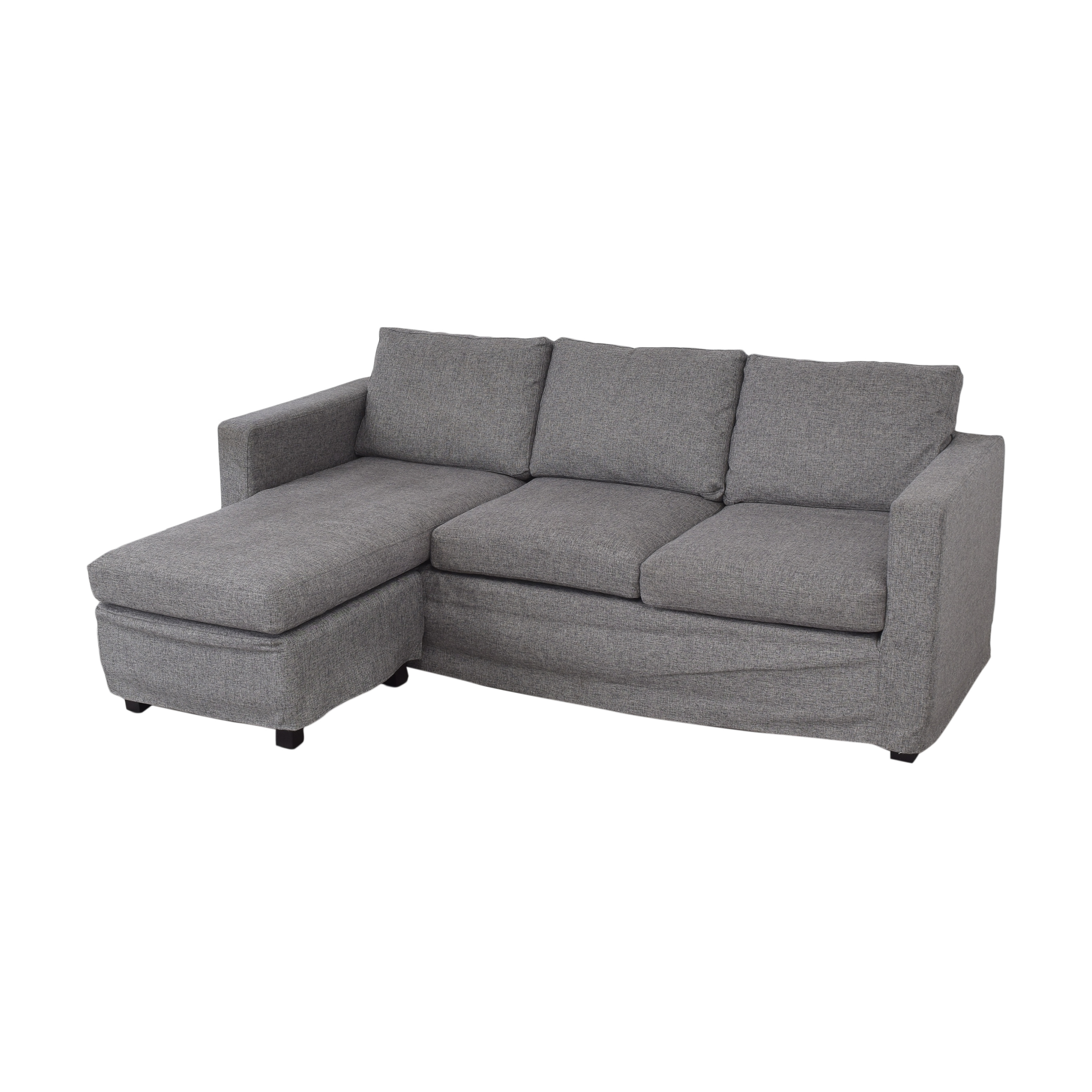 buy Andover Mills Chaise Reversible Sectional Sofa Andover Mills Sectionals