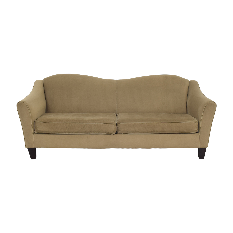 shop Raymour & Flanigan Raymour & Flanigan Modern Two Cushion Sofa online