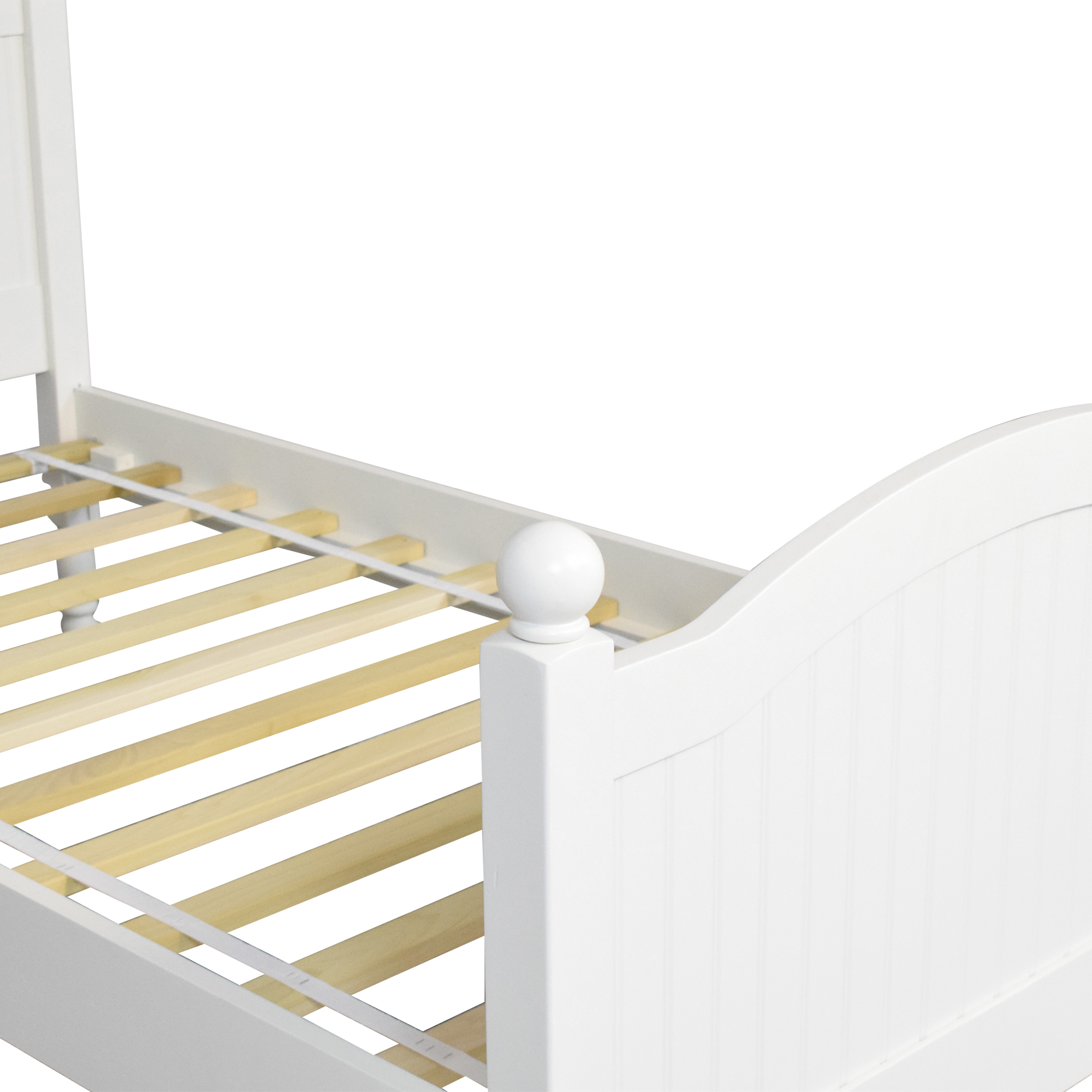 shop Pottery Barn Catalina Twin Bed Pottery Barn Beds