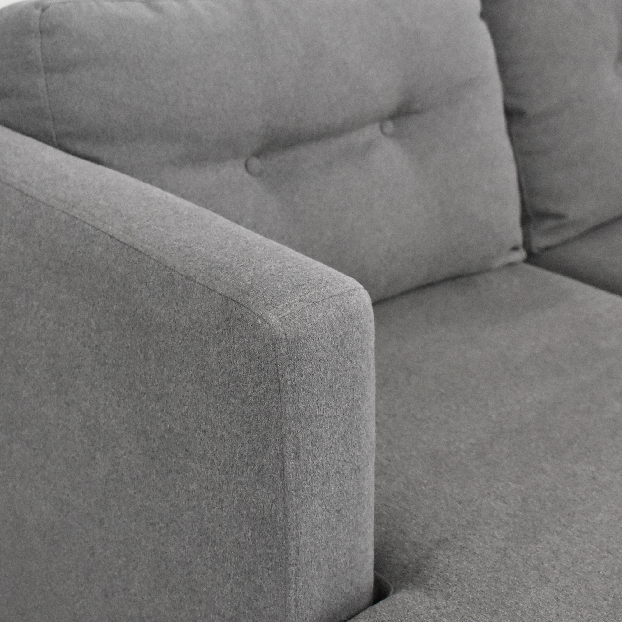West Elm West Elm Modern Sectional Sofa with Chaise coupon