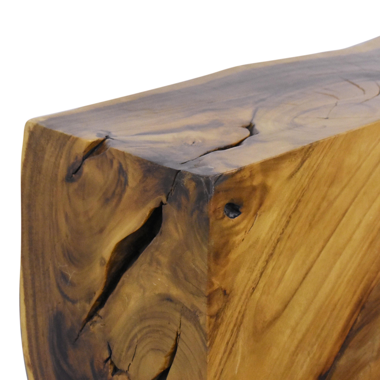 Urban Hardwoods Urban Hardwoods Block Accent Table Tables