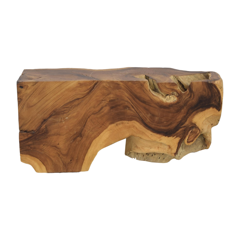 buy Urban Hardwoods Block Accent Table Urban Hardwoods Tables
