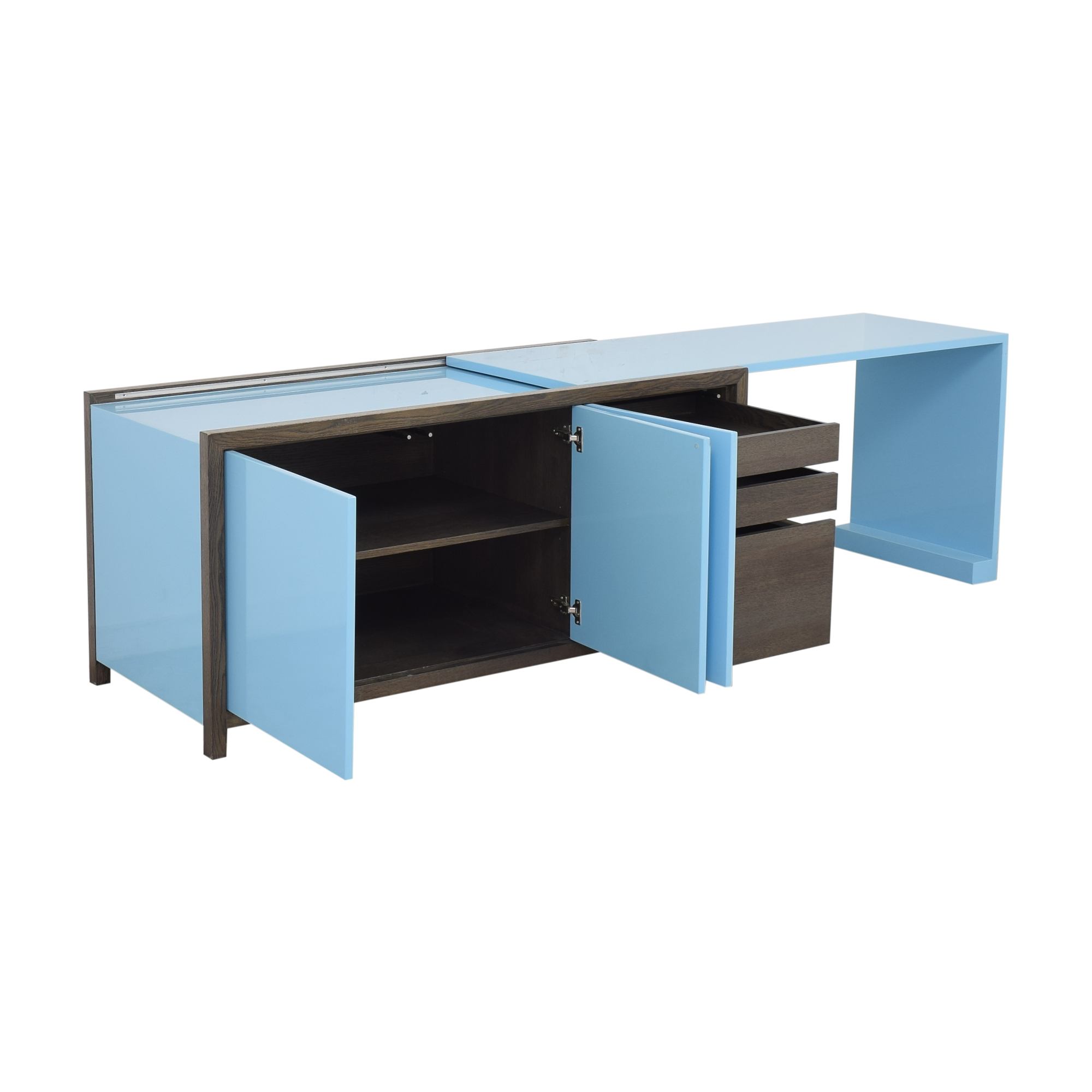 Dune Dune Lemans Sideboard with Extendable Desk Storage