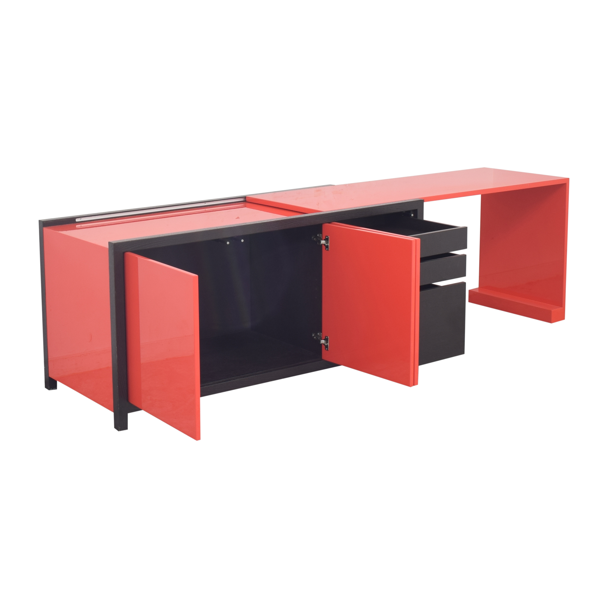 buy Dune Lemans Sideboard with Extendable Desk Dune Cabinets & Sideboards