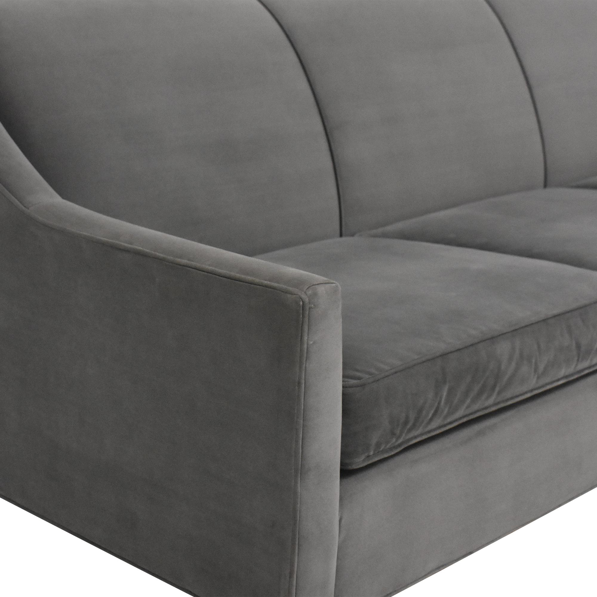 Mitchell Gold + Bob Williams Mitchell Gold + Bob Williams Cara Three Cushion Sofa on sale