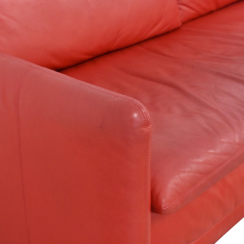 Jensen-Lewis Jensen-Lewis Haley Single Cushion Sofa second hand