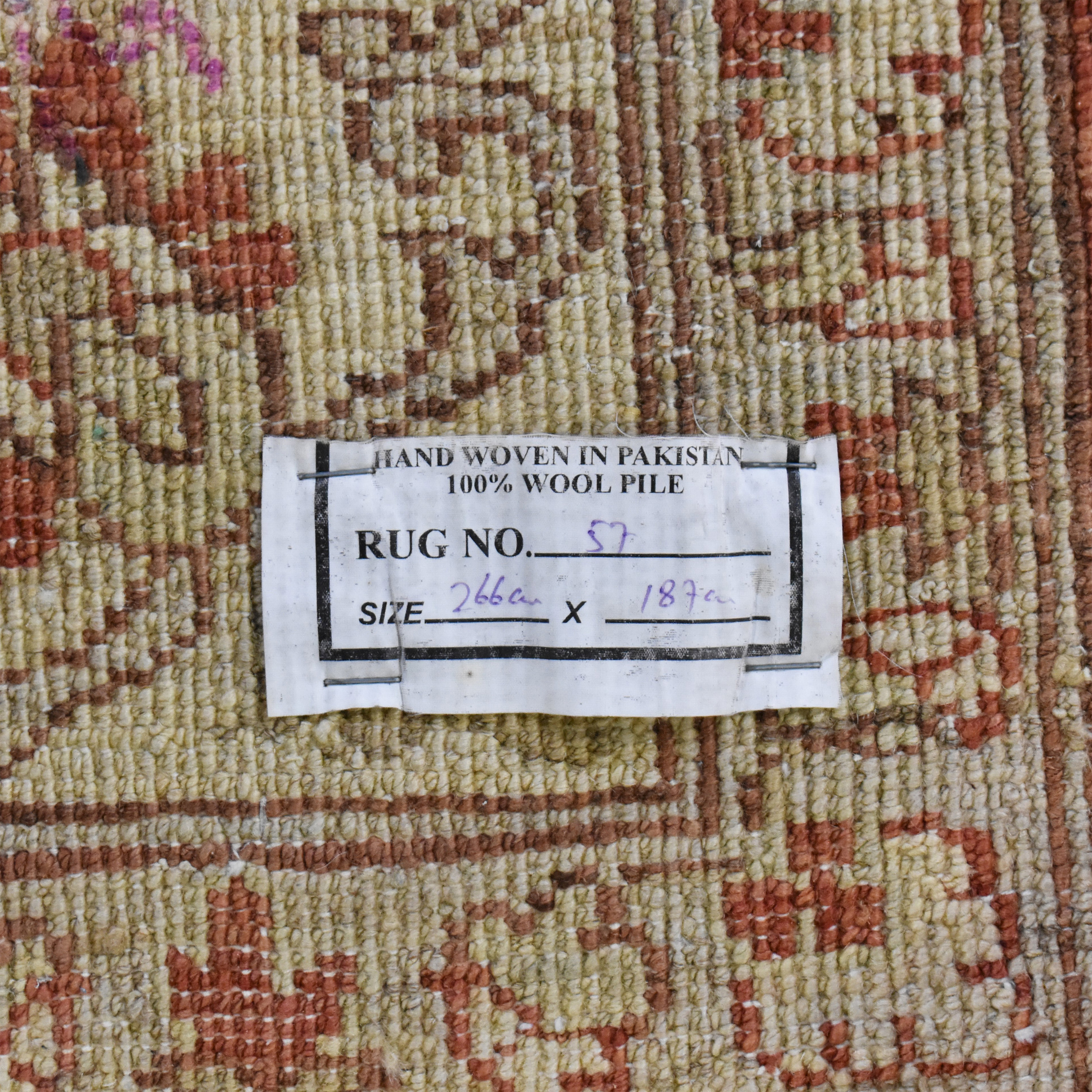 Lillian August Lillian August Patterned Peshawar Area Rug nyc