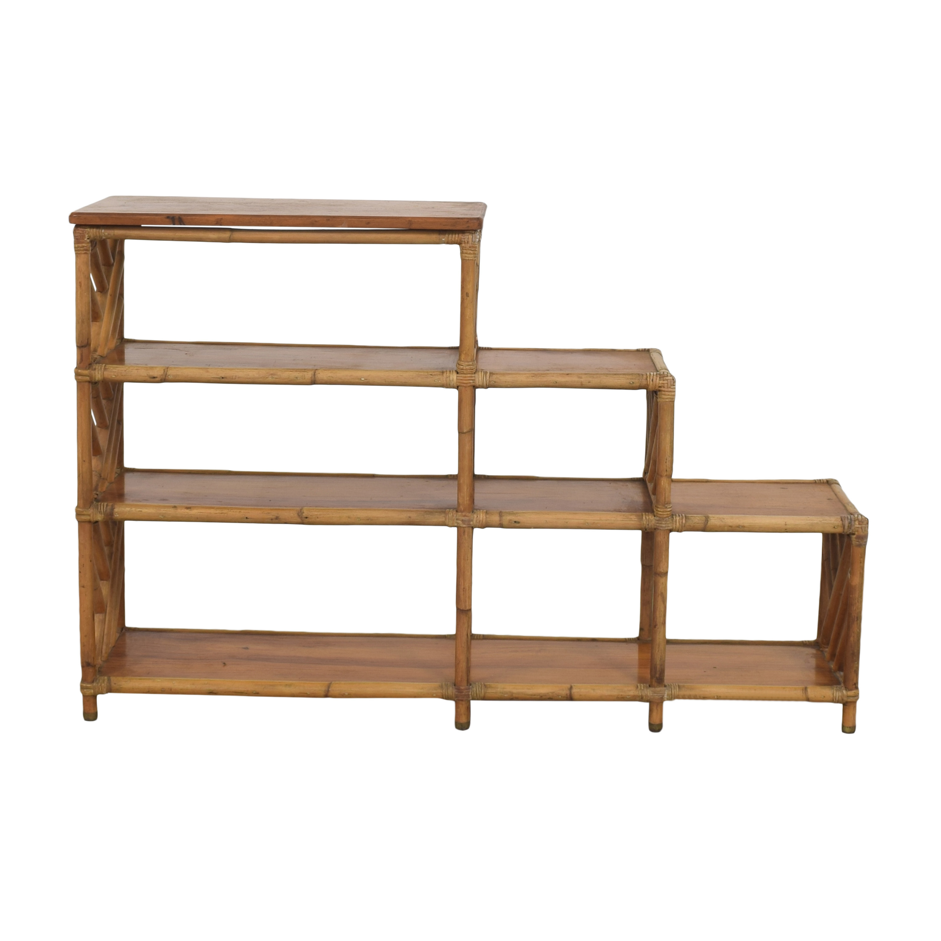 Vintage Etagere Shelves used