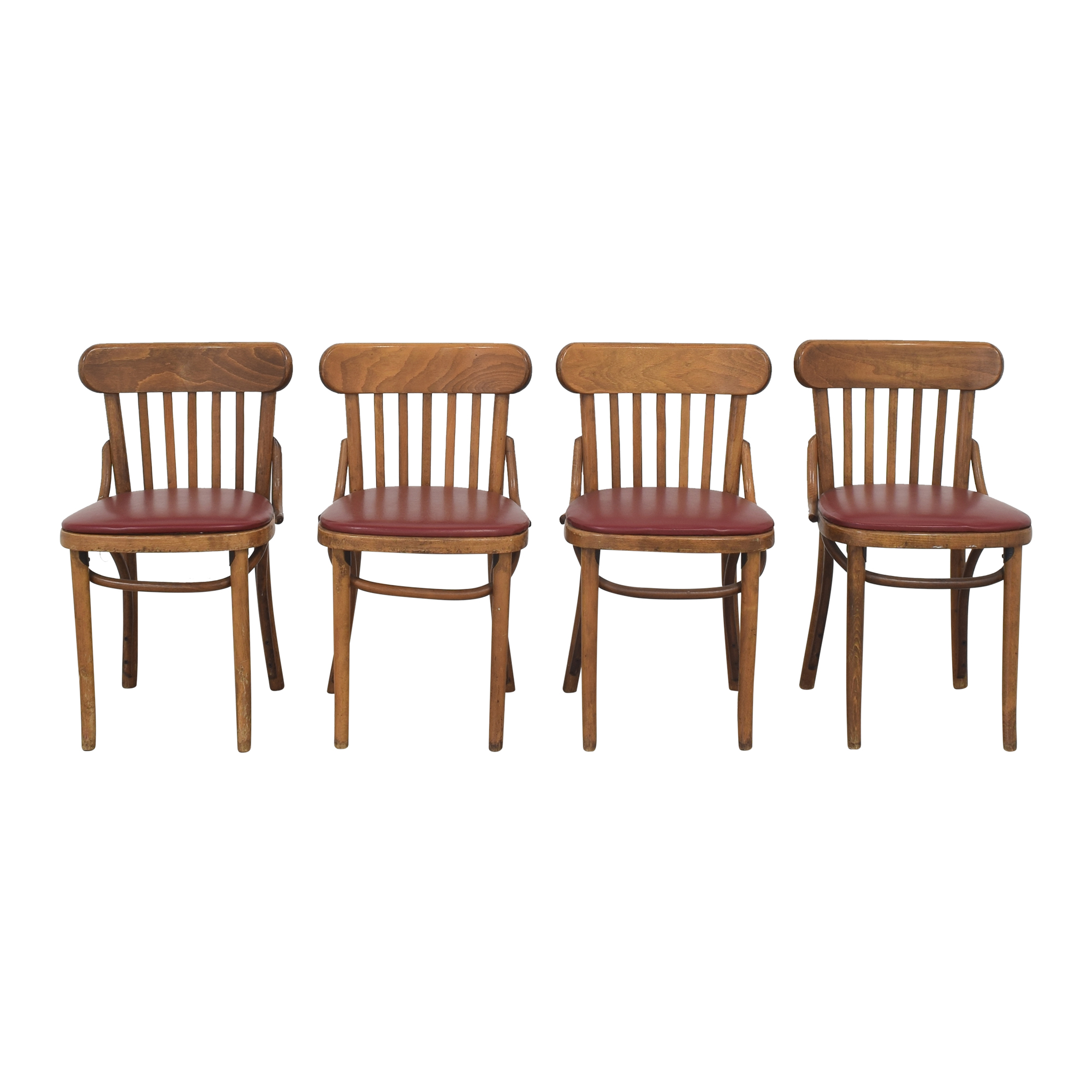 shop Shelby Williams Slat Back Dining Chairs Shelby Williams Dining Chairs
