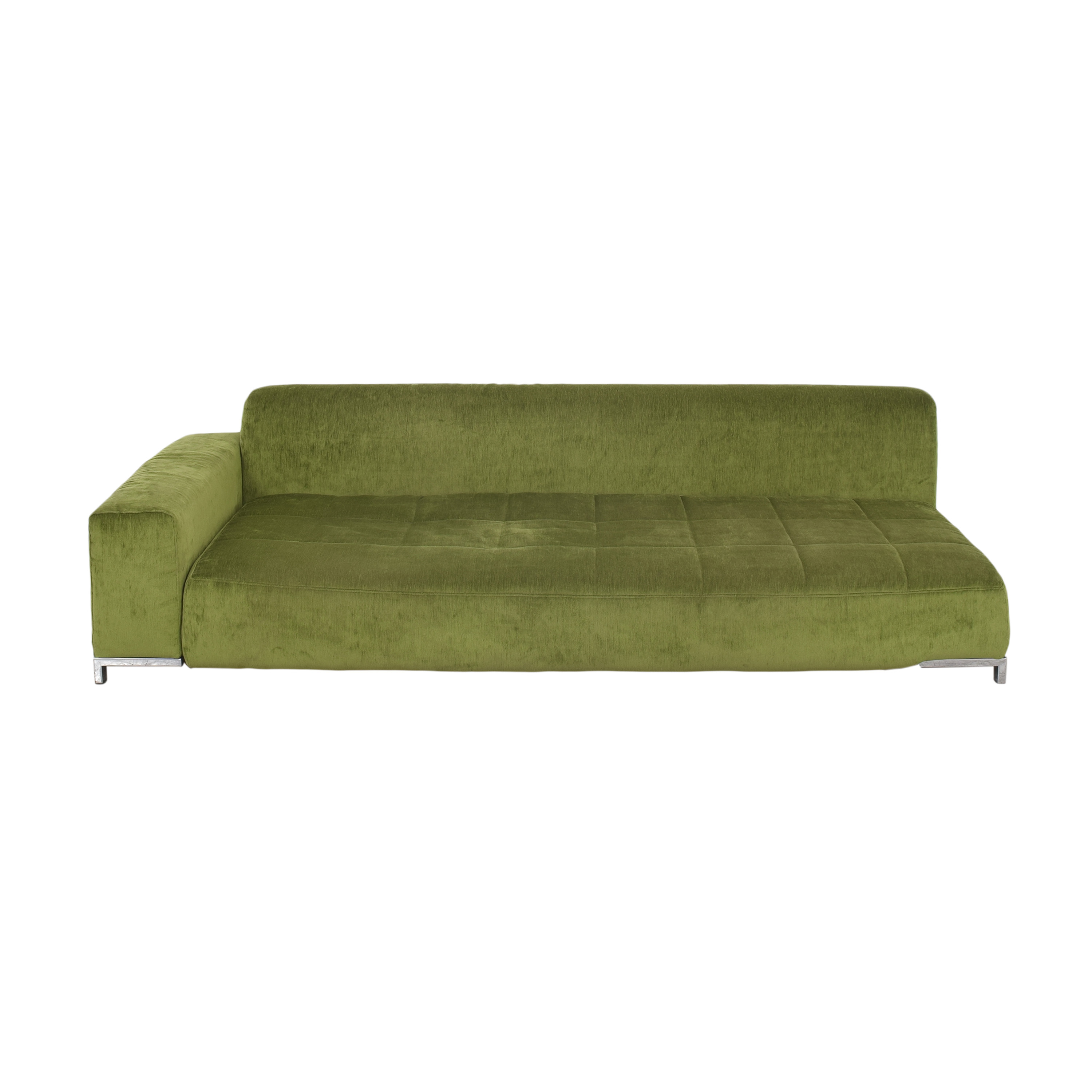 B&B Italia B&B Italia One Arm Sofa green