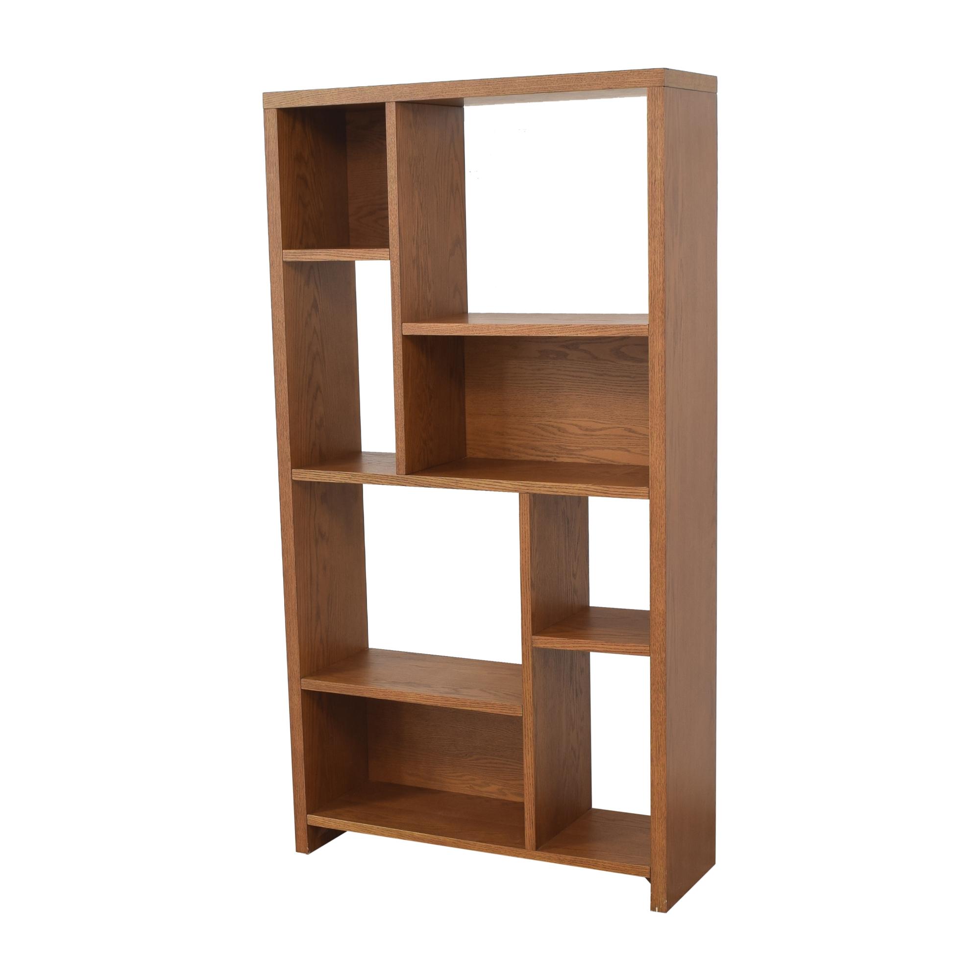 West Elm West Elm Rectangle Cutout Bookcase pa