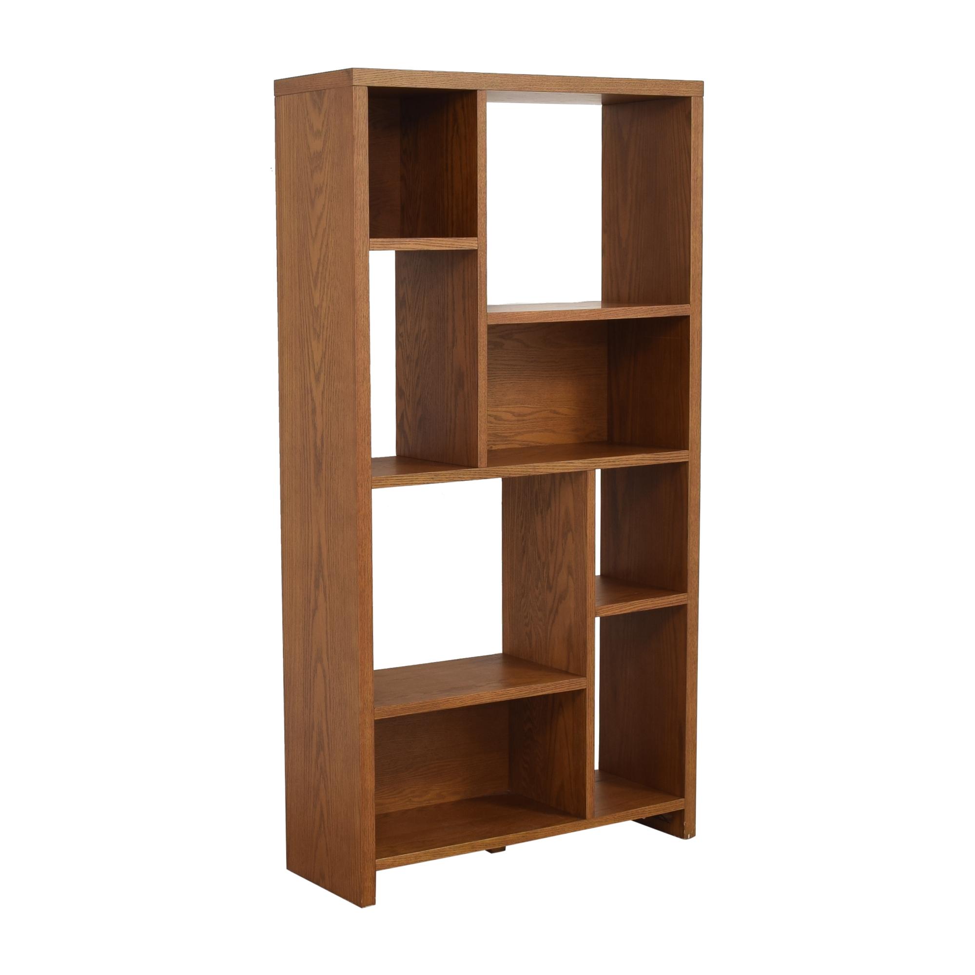 shop West Elm Rectangle Cutout Bookcase West Elm