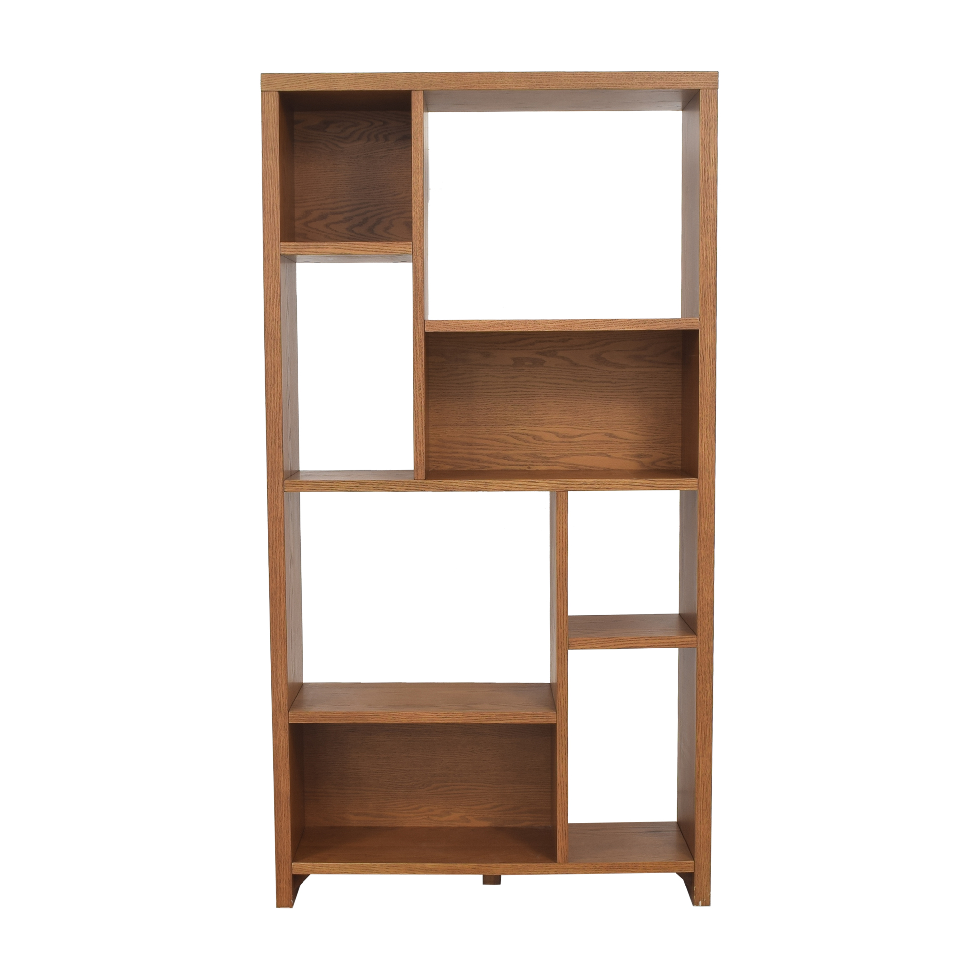 buy West Elm Rectangle Cutout Bookcase West Elm