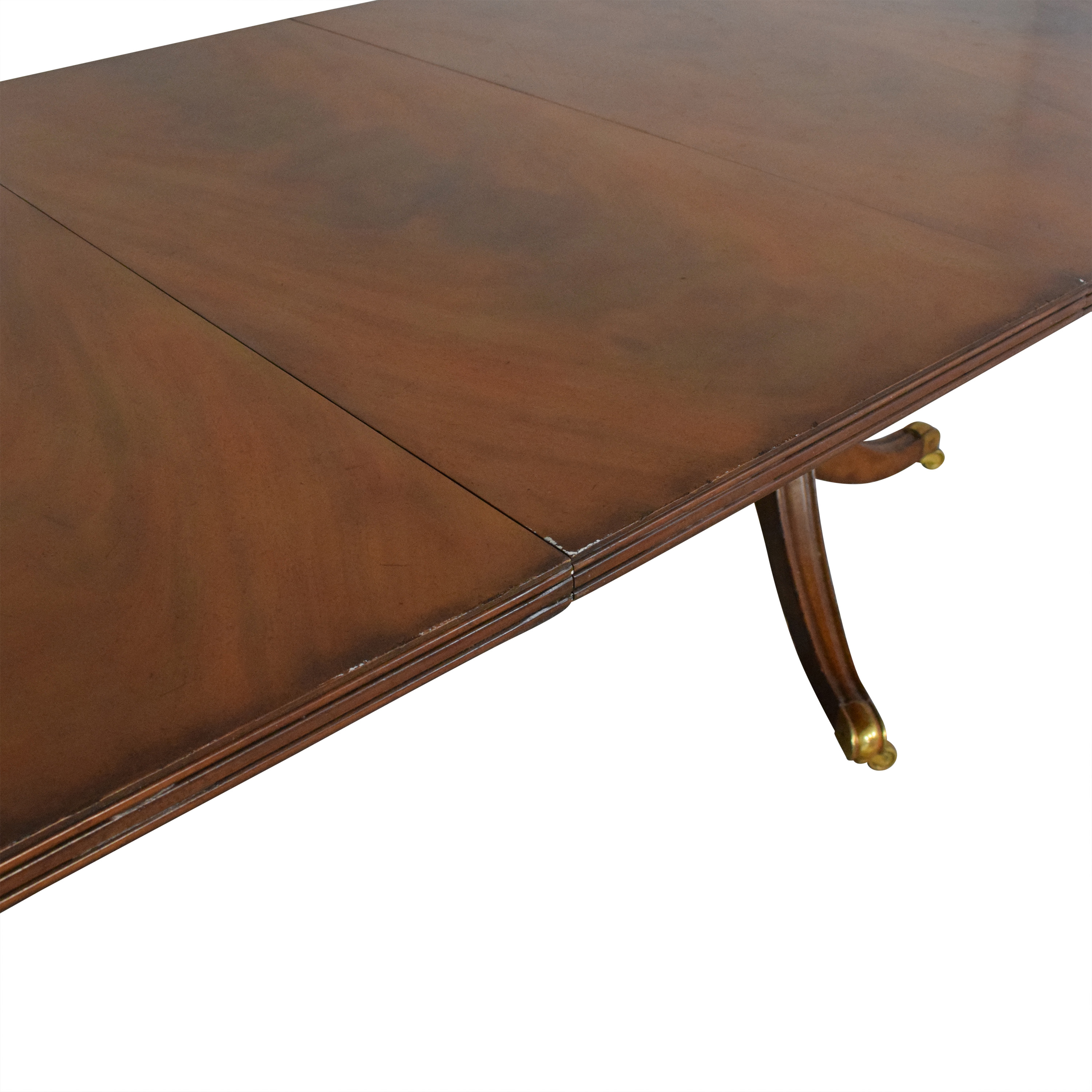 buy Maitland-Smith Maitland-Smith Double Pedestal Extendable Dining Table online