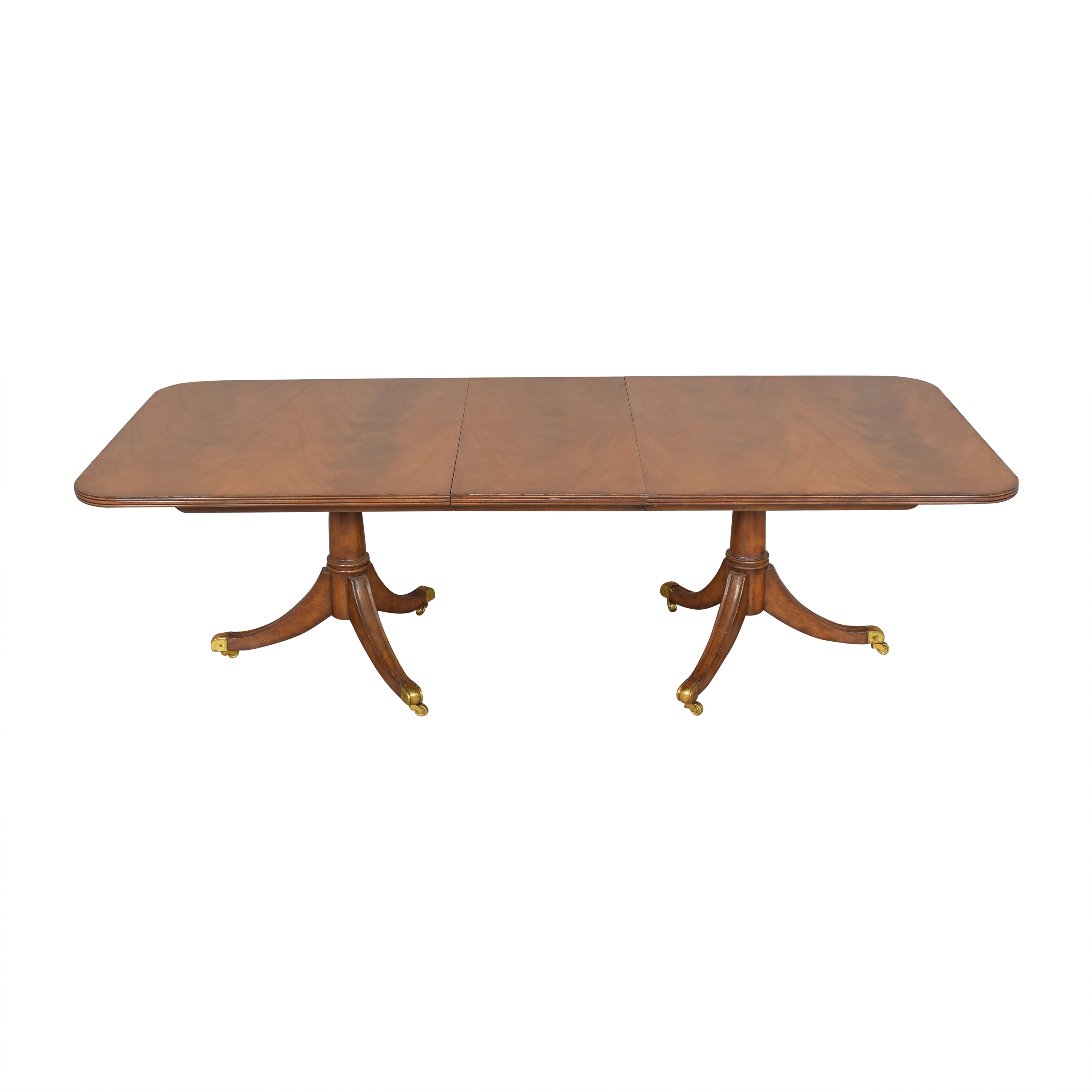 Maitland-Smith Double Pedestal Extendable Dining Table / Dinner Tables