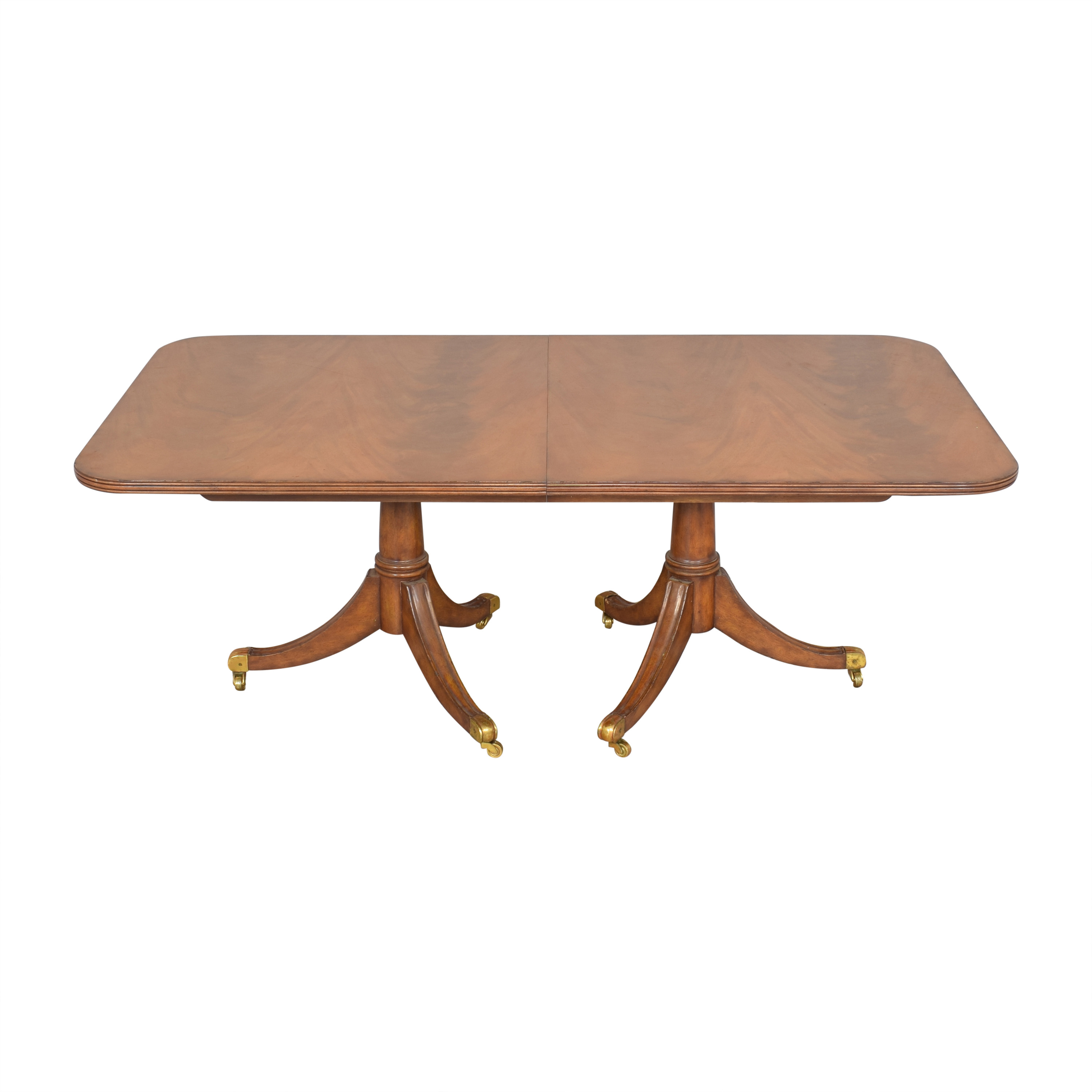 Maitland-Smith Maitland-Smith Double Pedestal Extendable Dining Table nj