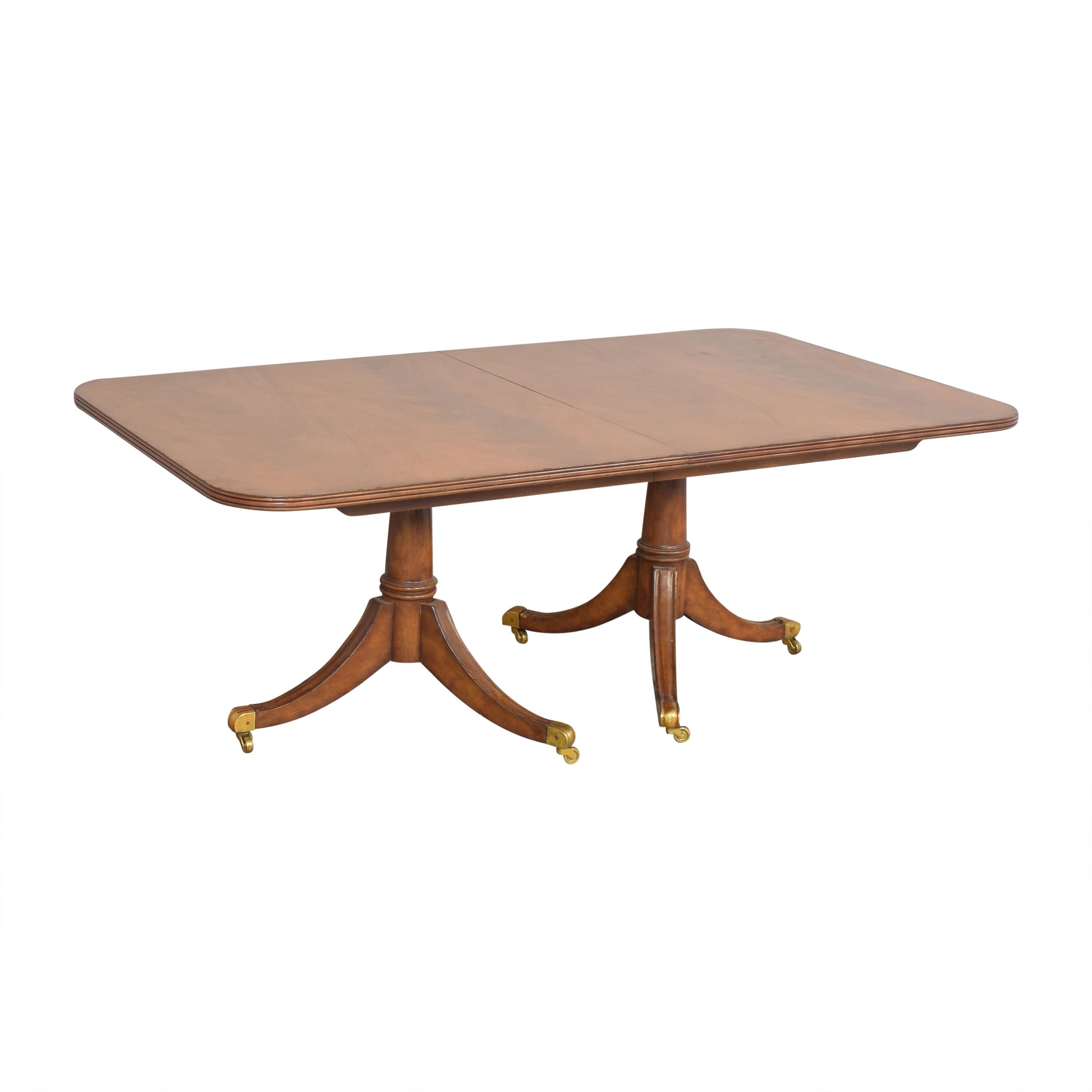 Maitland-Smith Maitland-Smith Double Pedestal Extendable Dining Table