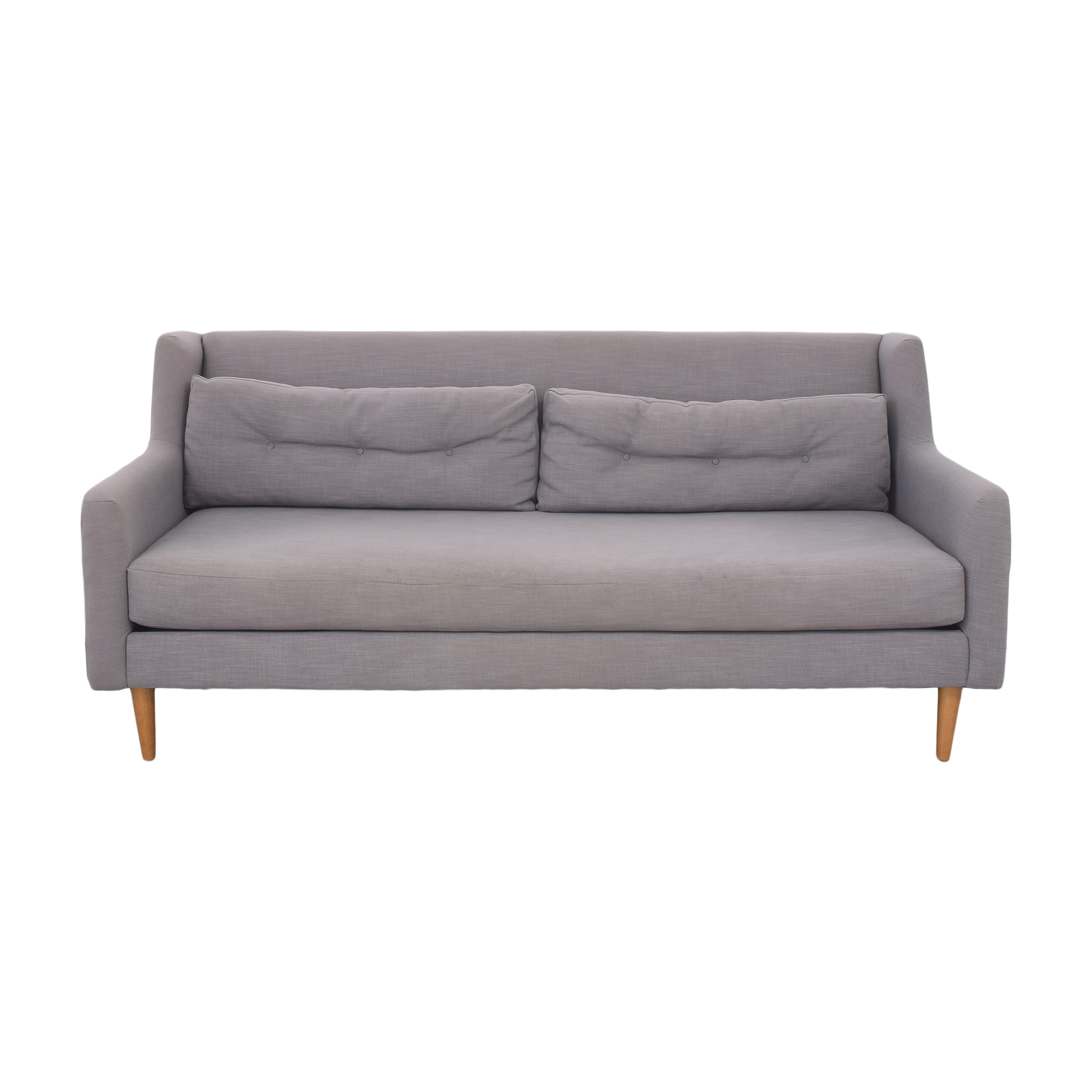 West Elm West Elm Crosby Bench Cushion Sofa price