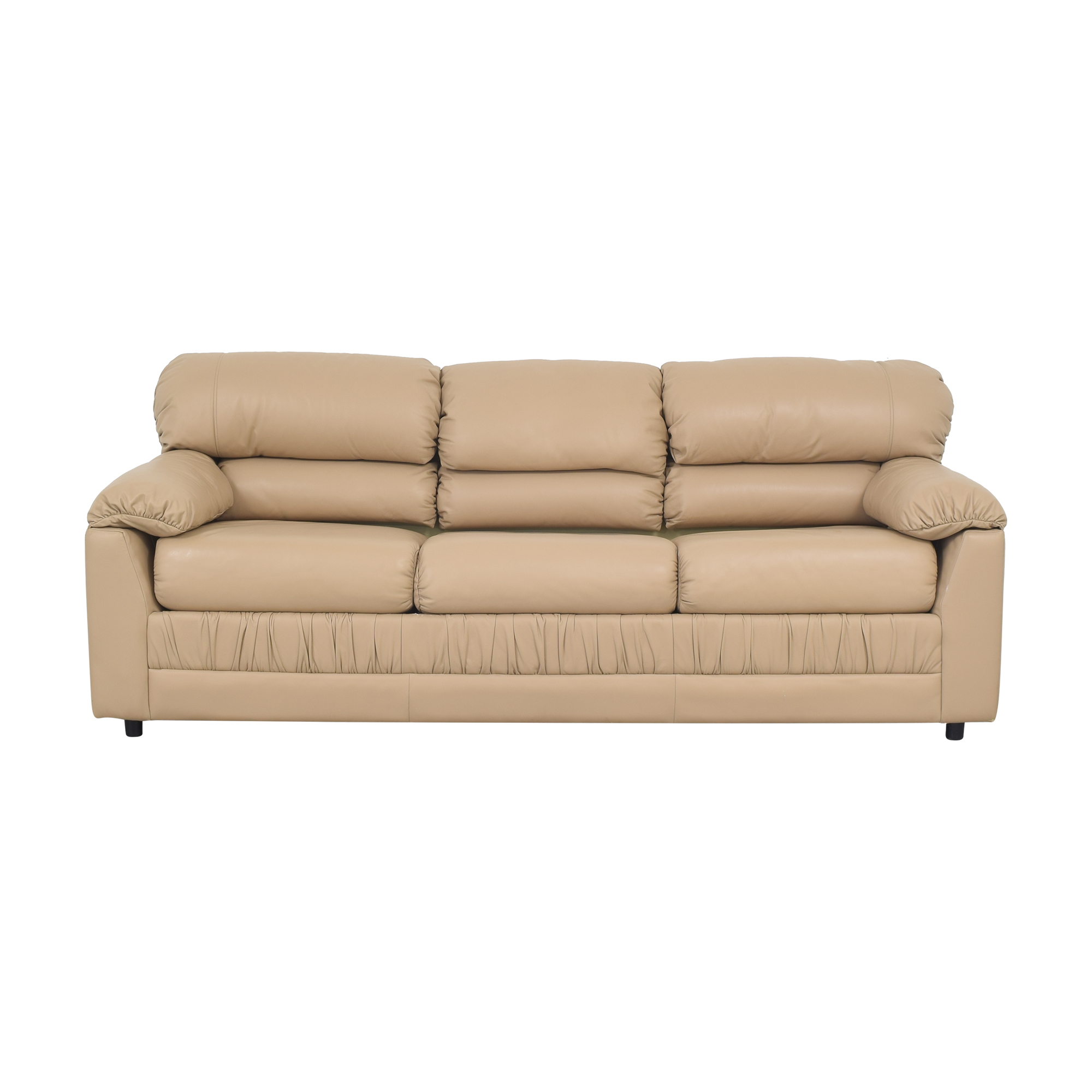 Castro Convertibles Castro Convertibles Three Cushion Sleeper Sofa dimensions