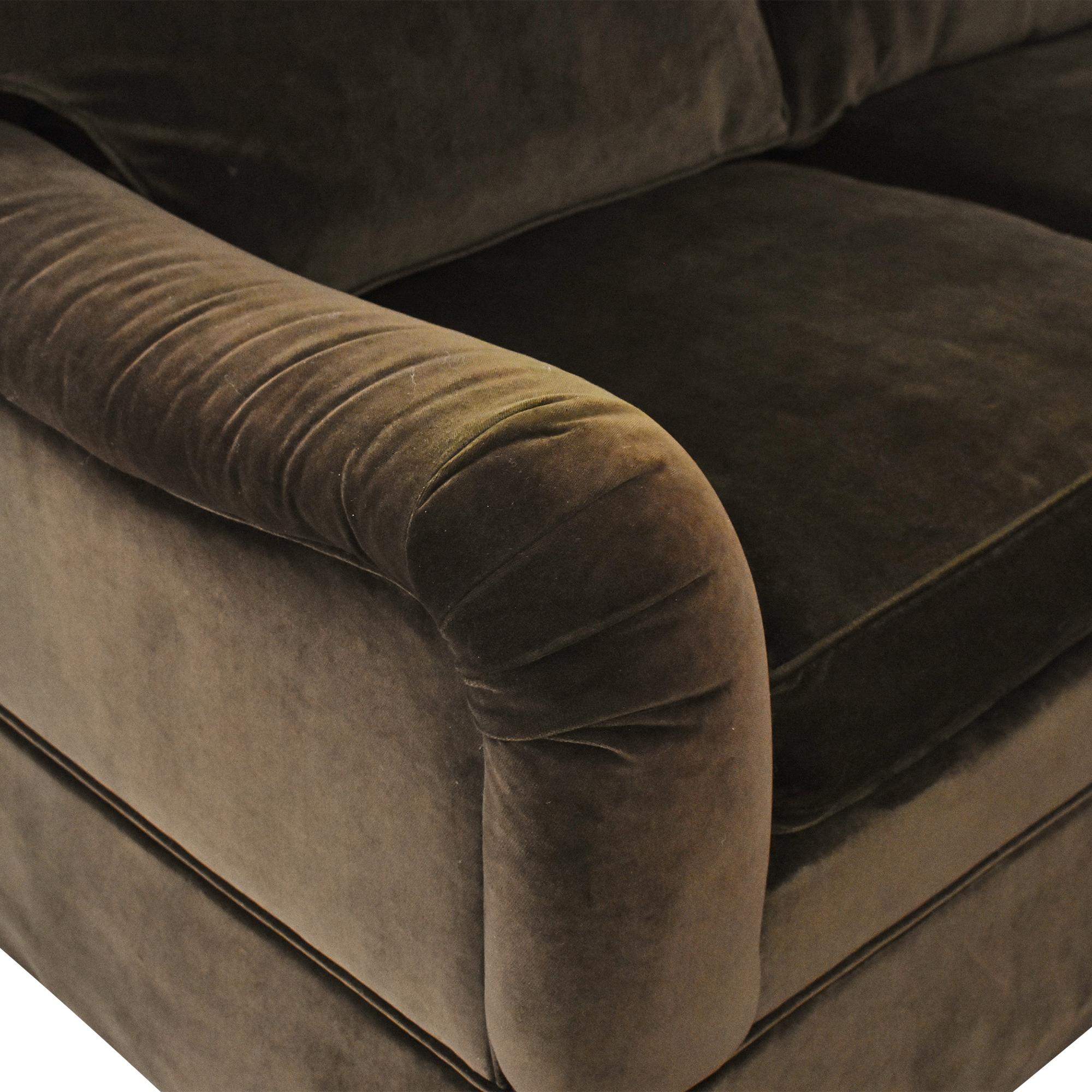 Ethan Allen Ethan Allen L Shaped Sectional Sofa for sale
