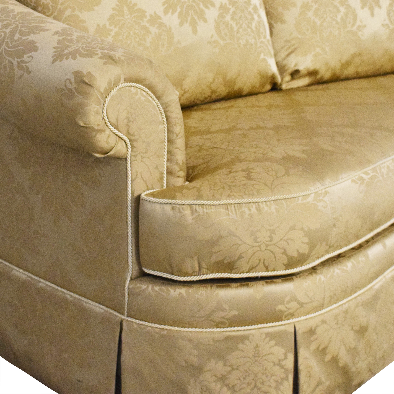 buy Ethan Allen Paris Bench Cushion Sofa Ethan Allen Classic Sofas