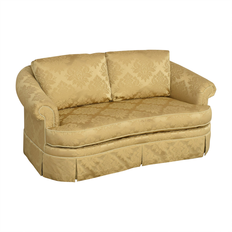 shop Ethan Allen Ethan Allen Paris Bench Cushion Sofa online