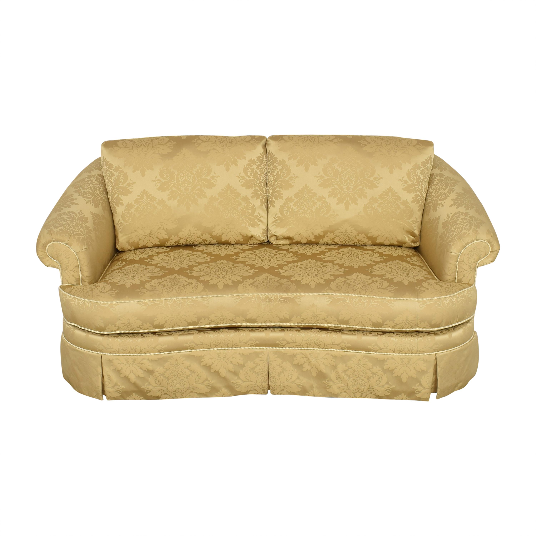 shop Ethan Allen Paris Bench Cushion Sofa Ethan Allen Sofas