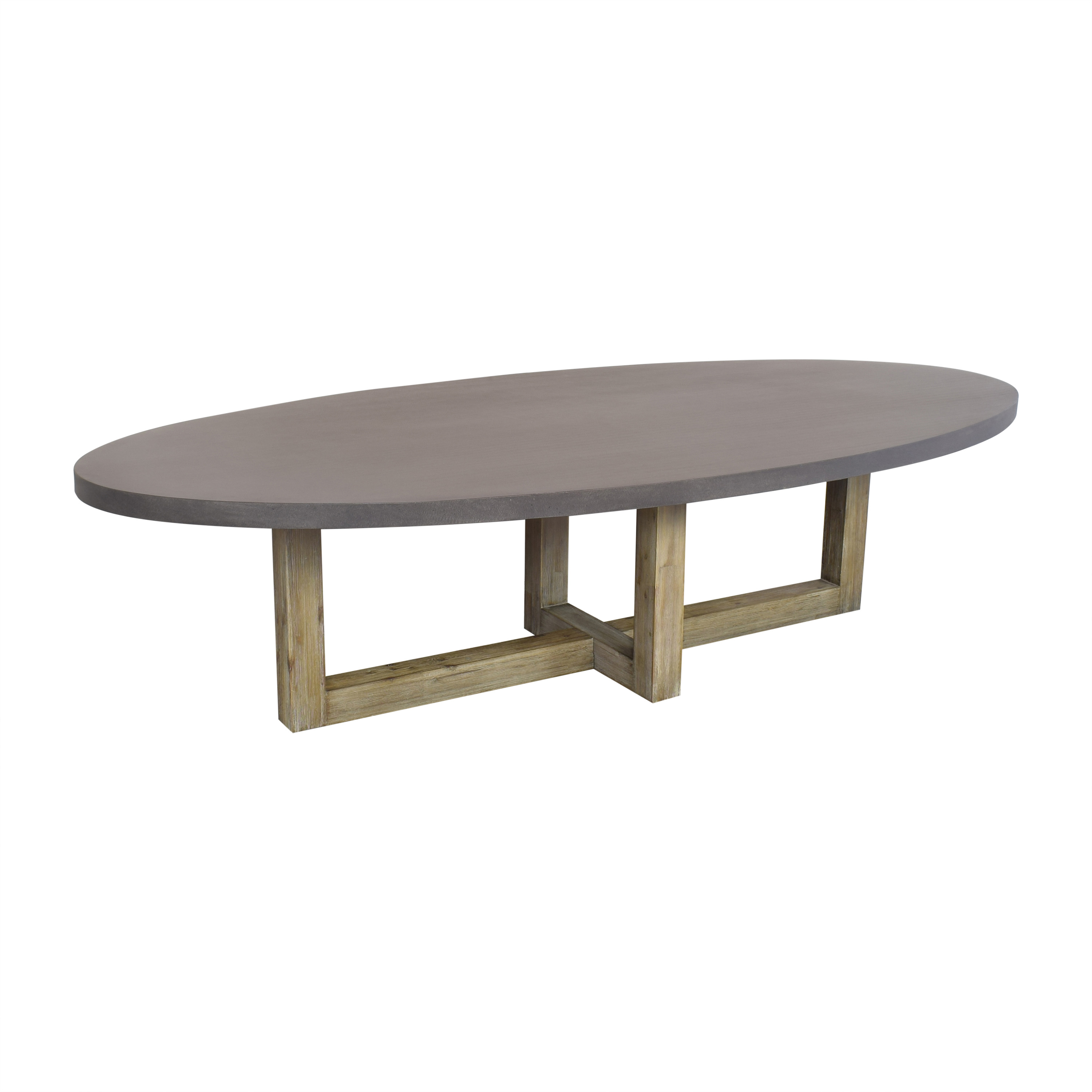 Crate & Barrel Crate & Barrel Woodward Dining Table Dinner Tables