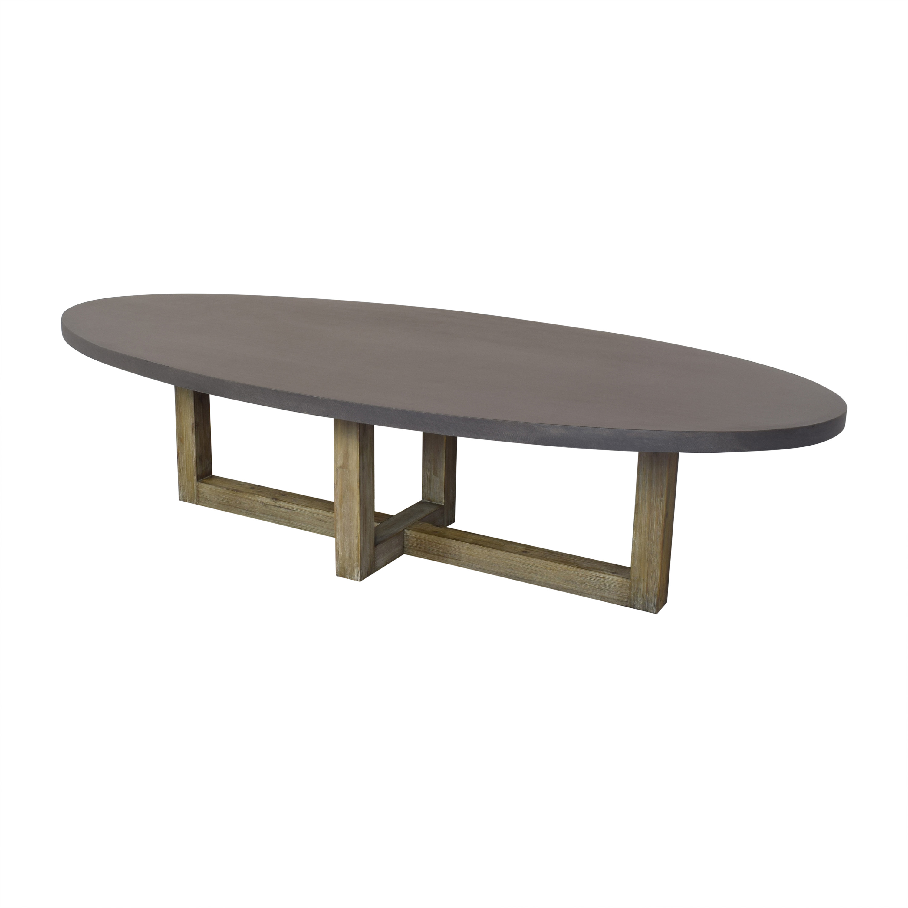 Crate & Barrel Crate & Barrel Woodward Dining Table for sale