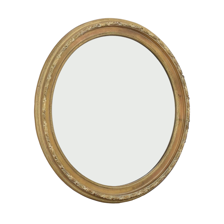 Ethan Allen Ethan Allen Round Wall Mirror ma