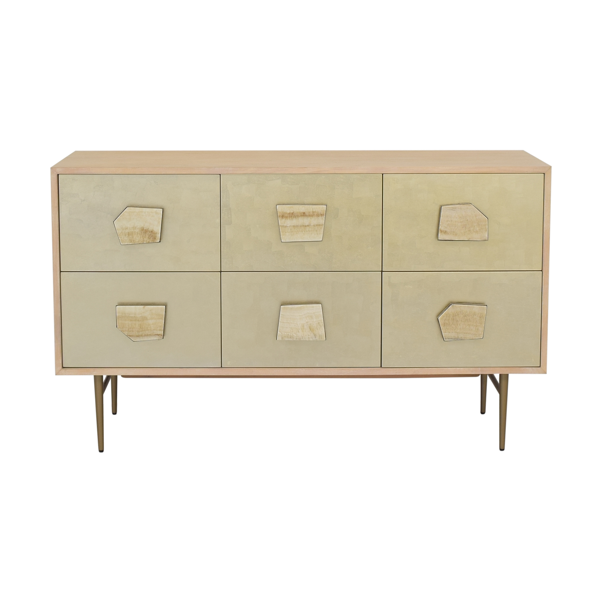 buy West Elm Jeweled Six Drawer Dresser by Roar & Rabbit West Elm Dressers