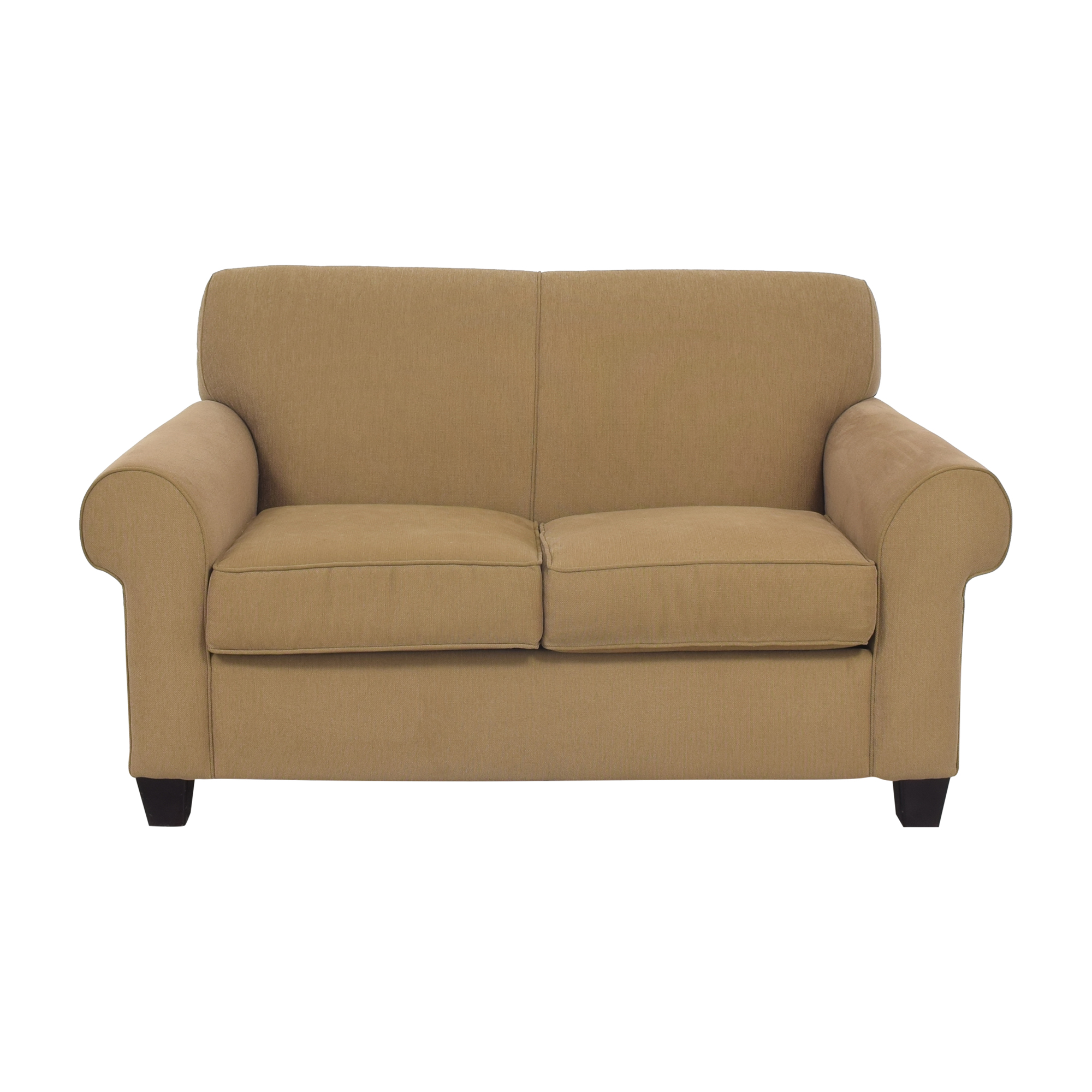 Broyhill Furniture Roll Arm Loveseat Broyhill Furniture