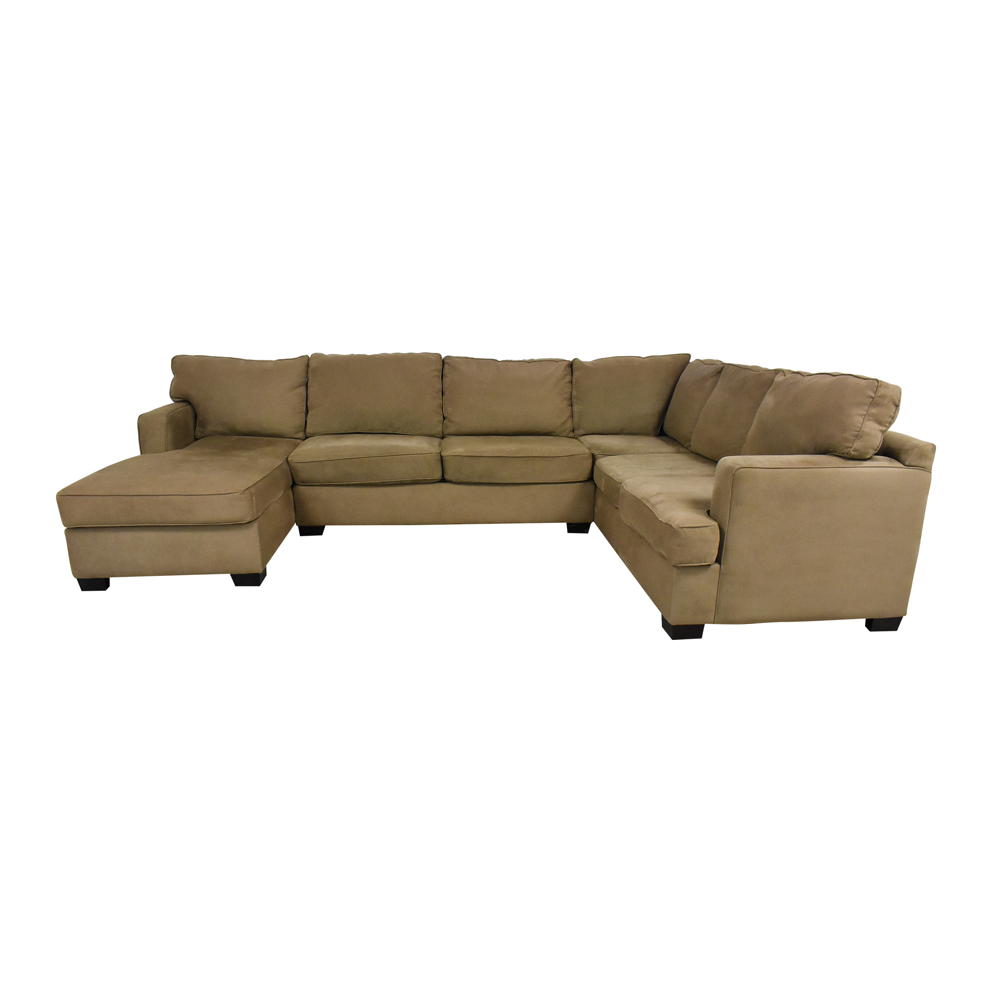 Bloomingdale's Sectional Sofa with Chaise / Sectionals