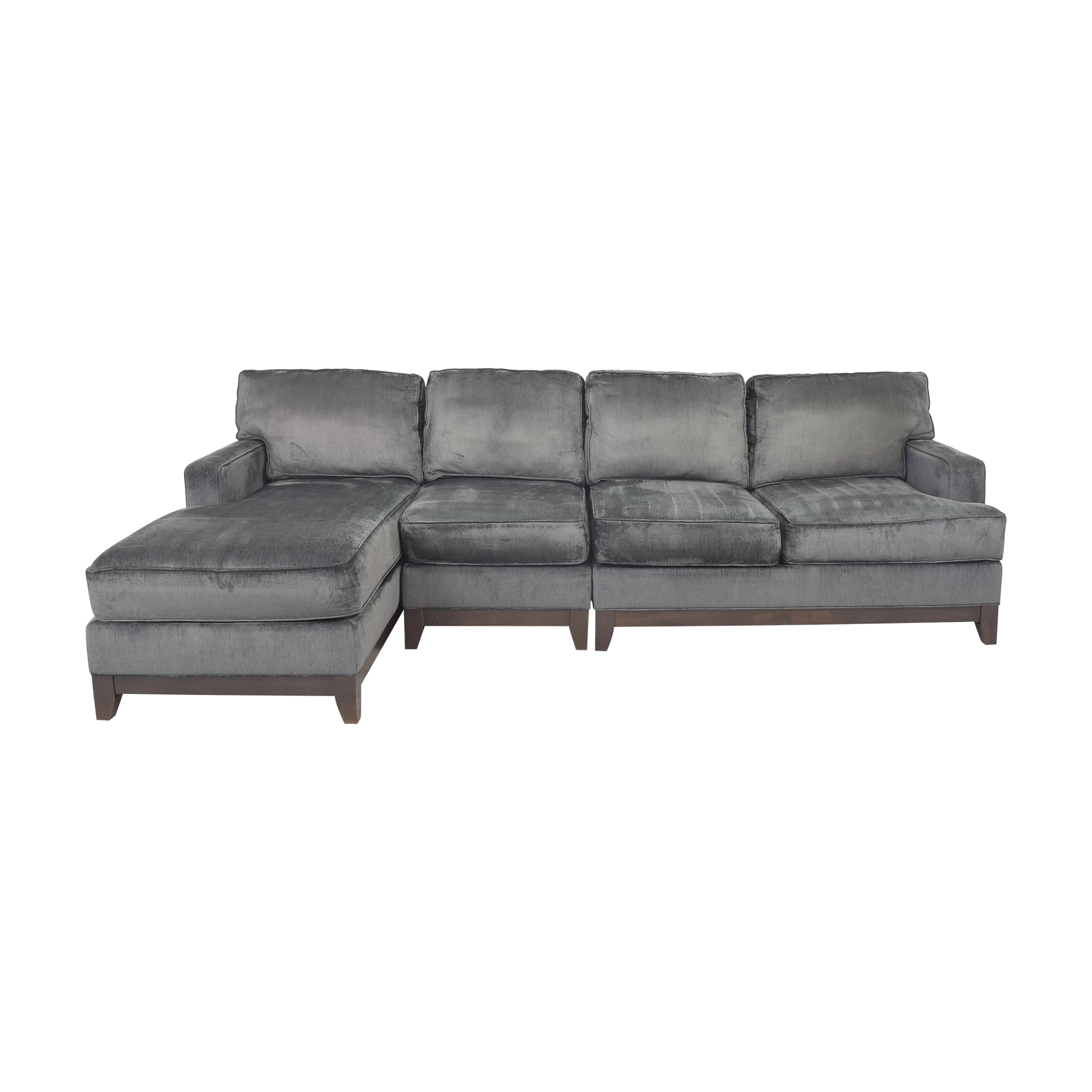 Ethan Allen Sectional Sofa with Chaise Ethan Allen