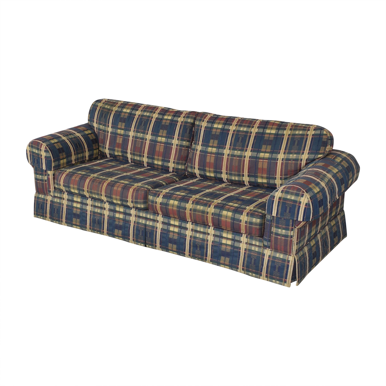 Norwalk Plaid Sleeper Sofa / Sofa Beds