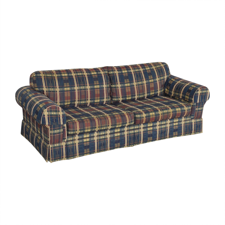 Norwalk Furniture Norwalk Plaid Sleeper Sofa Sofas