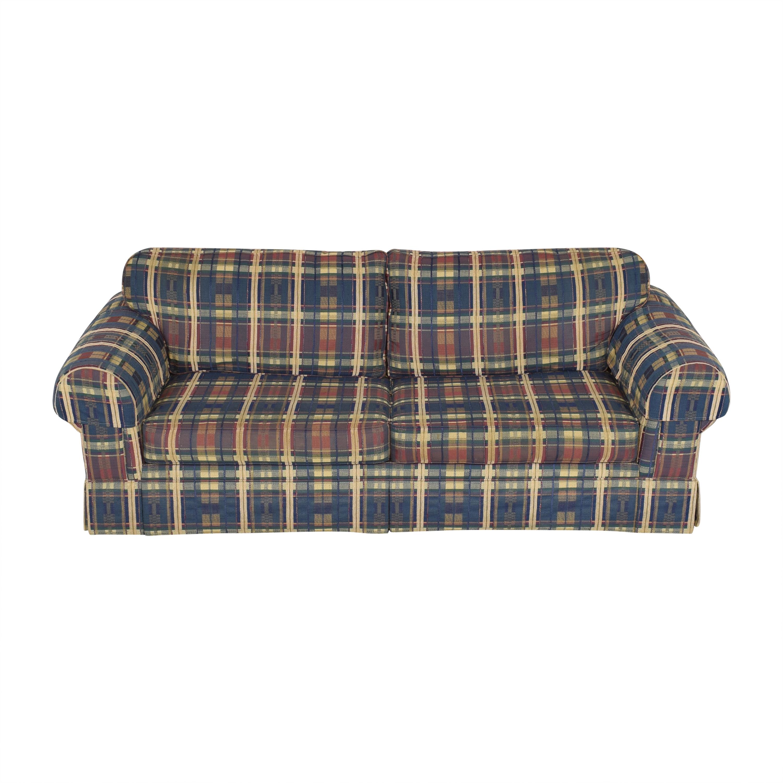 Norwalk Furniture Norwalk Plaid Sleeper Sofa dimensions